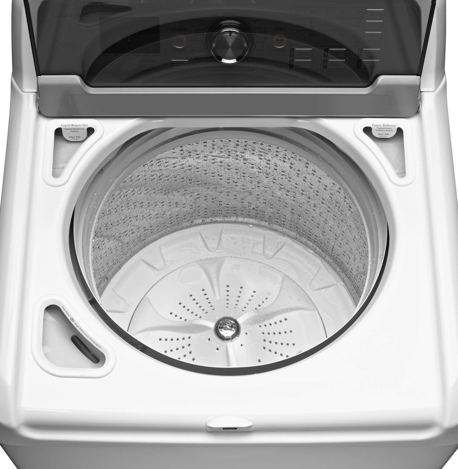 Maytag 4.8 cu. ft. Bravos XL® HE Top-Load Washer w/ Oxi & Steam - White