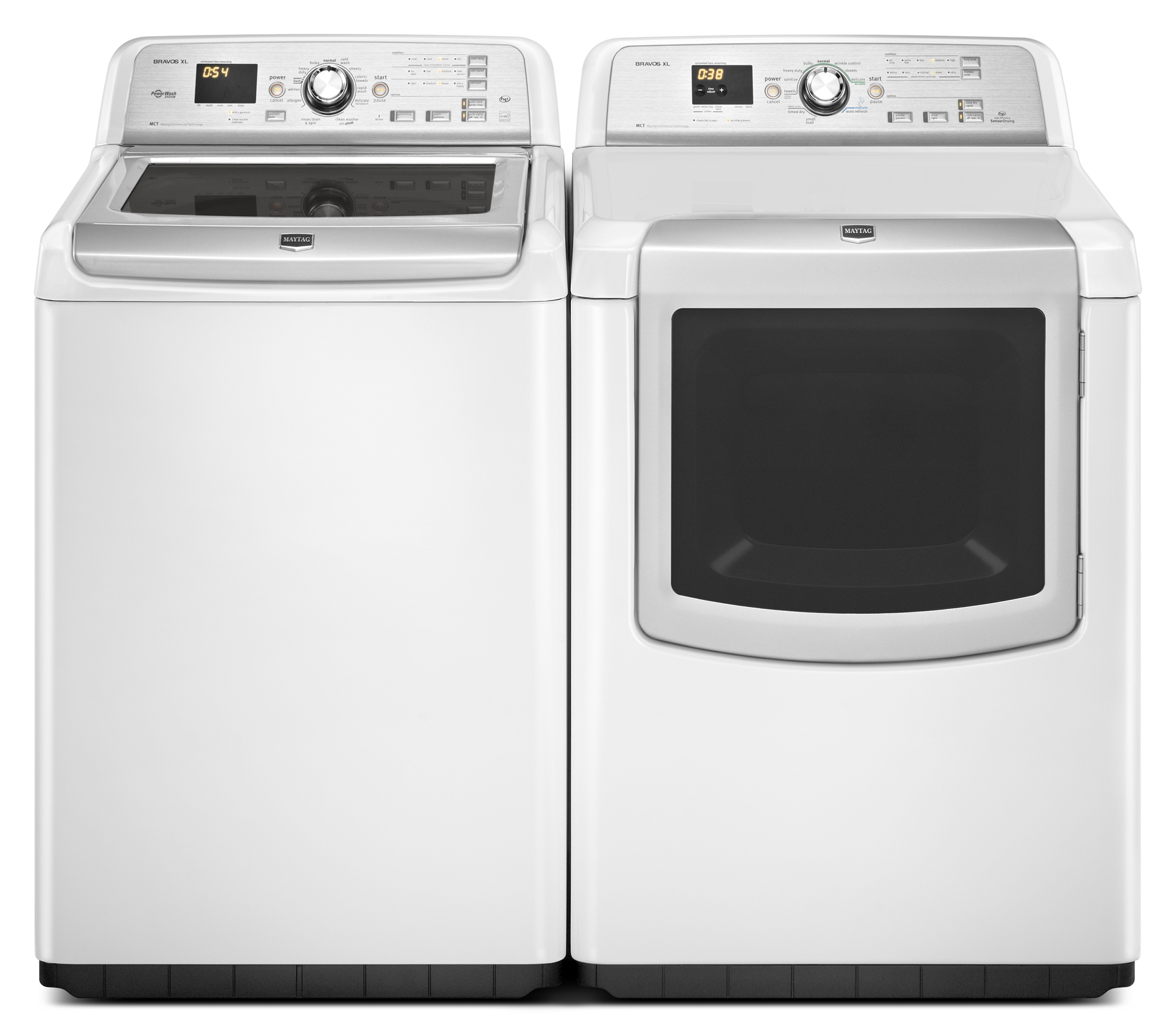 Maytag 7.3 cu. ft. Bravos XL® Electric Dryer w/ Sanitize Cycle - White