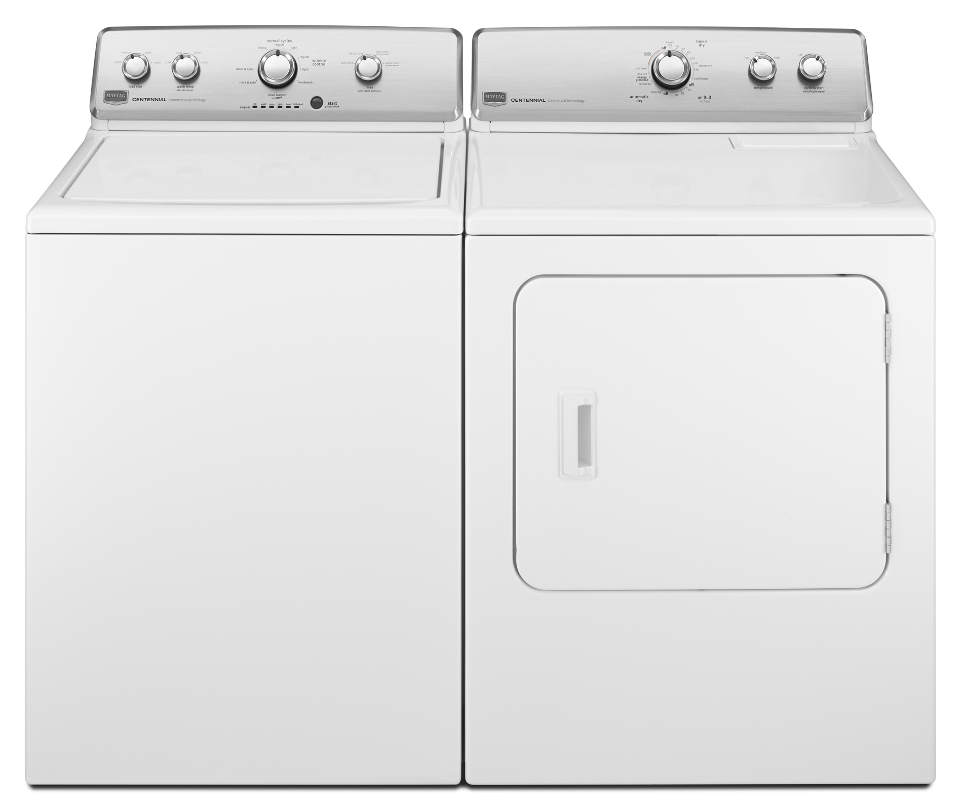 Maytag 7.0 cu. ft. Centennial® Gas Dryer w/ Wrinkle Control - White