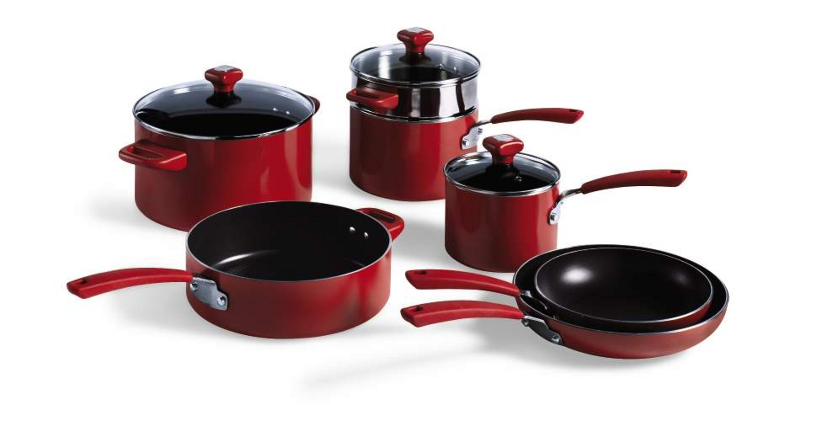 Kenmore 10Pc Aluminum Non-Stick Cookware Set