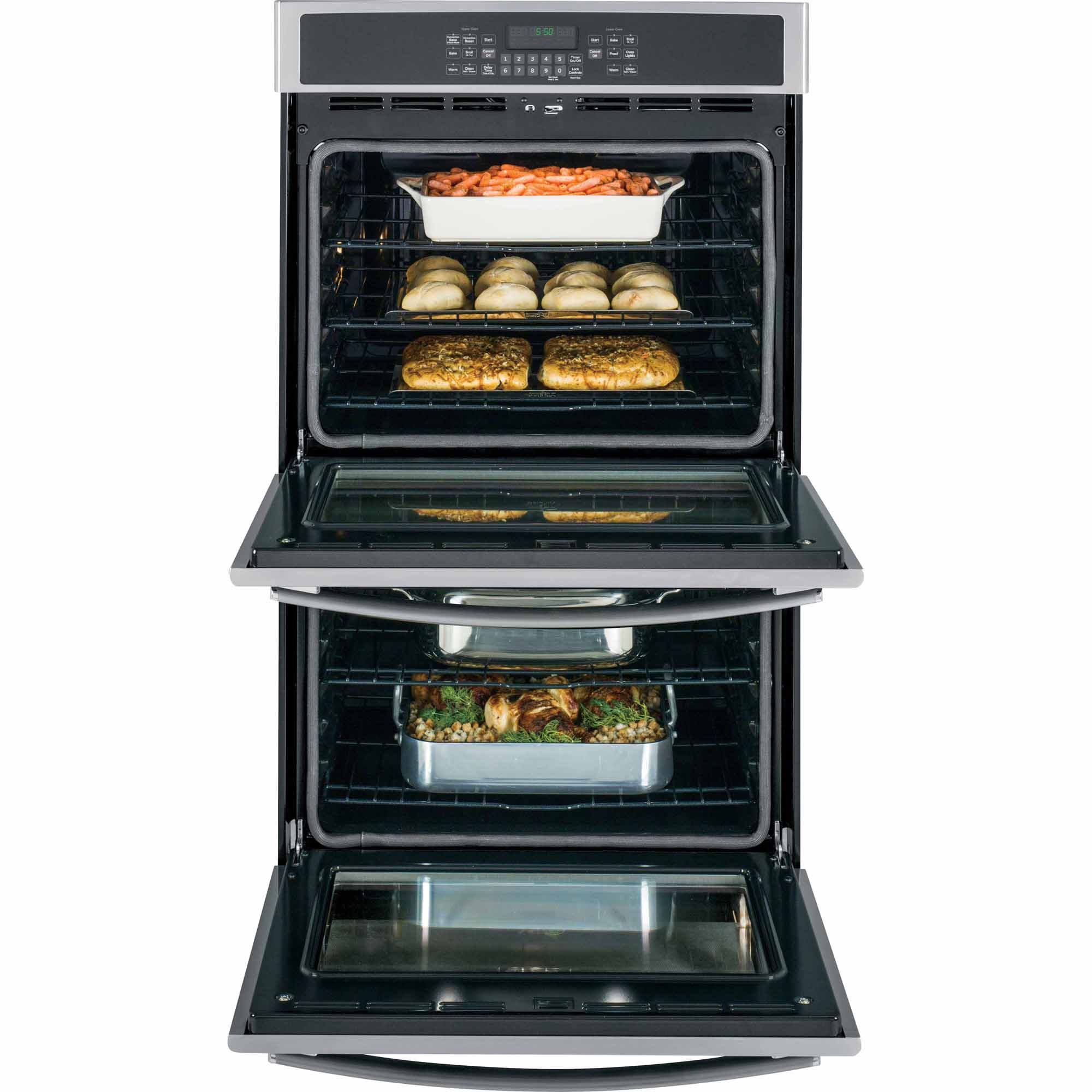 "GE Appliances 30"" Built-In Double Wall Oven w/ Convection - Stainless"