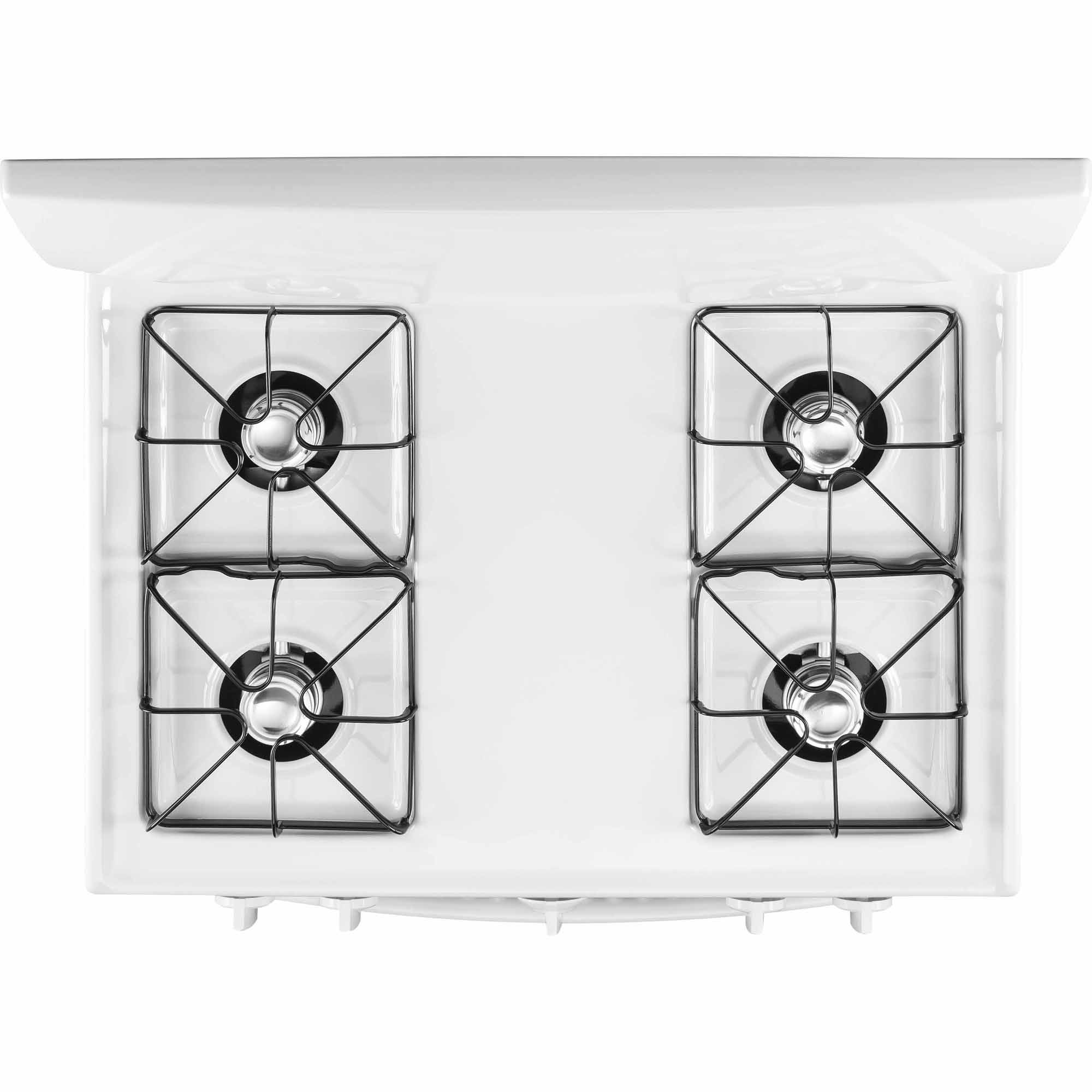 GE Appliances JGBS10DEFWW 4.8 cu. ft. Gas Range w/ LP Conversion Kit - White