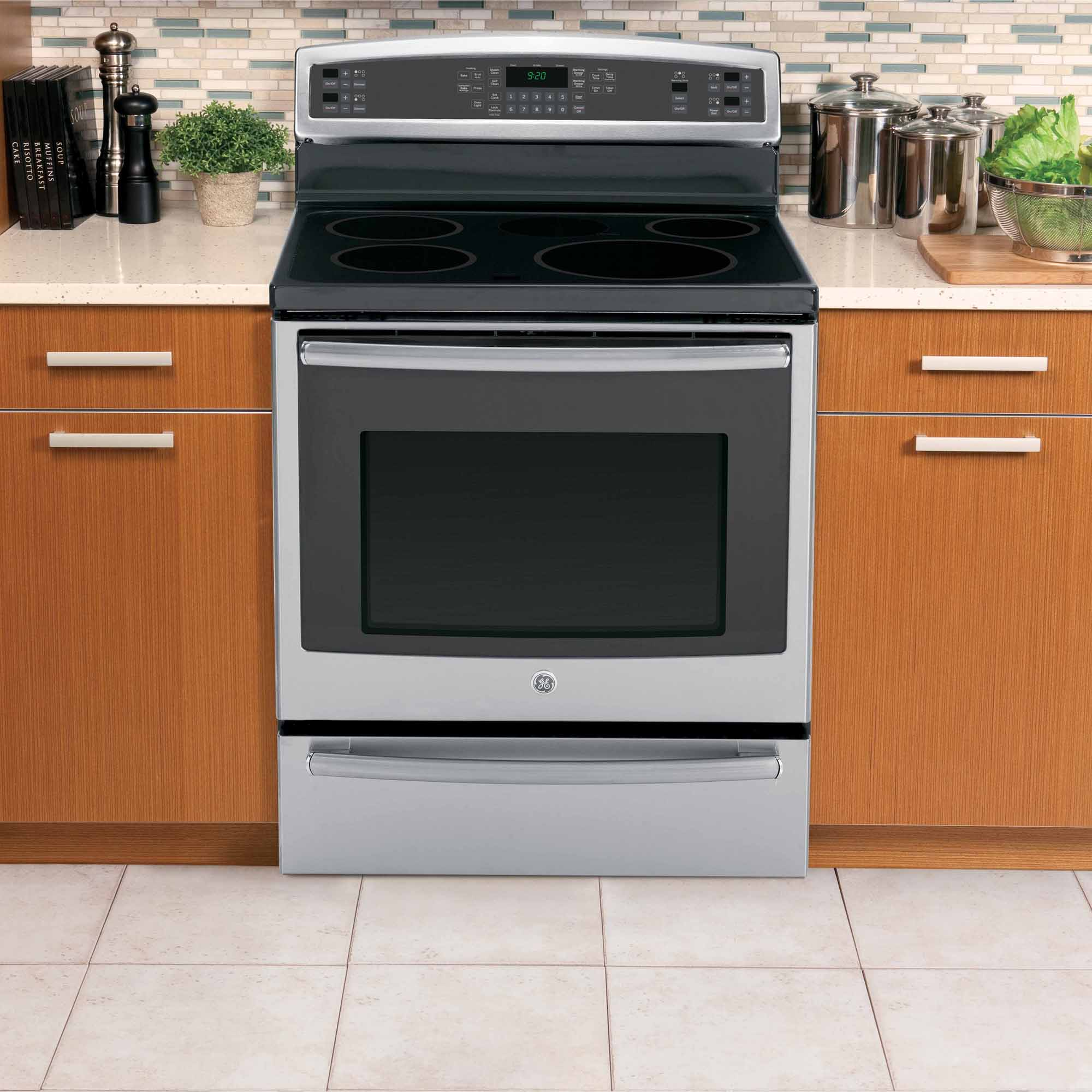 GE Profile 5.3 cu. ft. Induction Range w/ Convection - Stainless