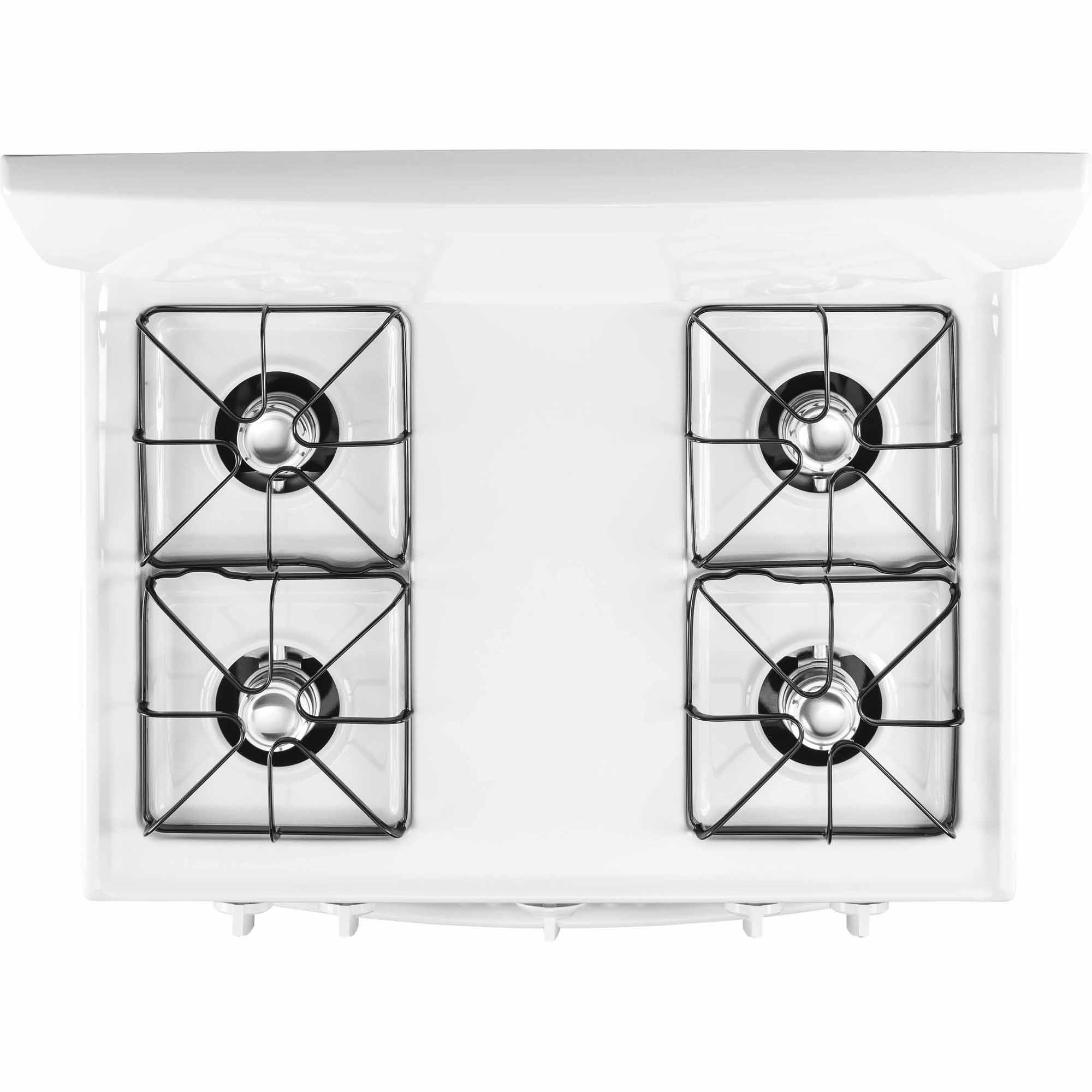 GE Appliances 4.8 cu. ft. Gas Range w/ Cordless Battery Ignition - White