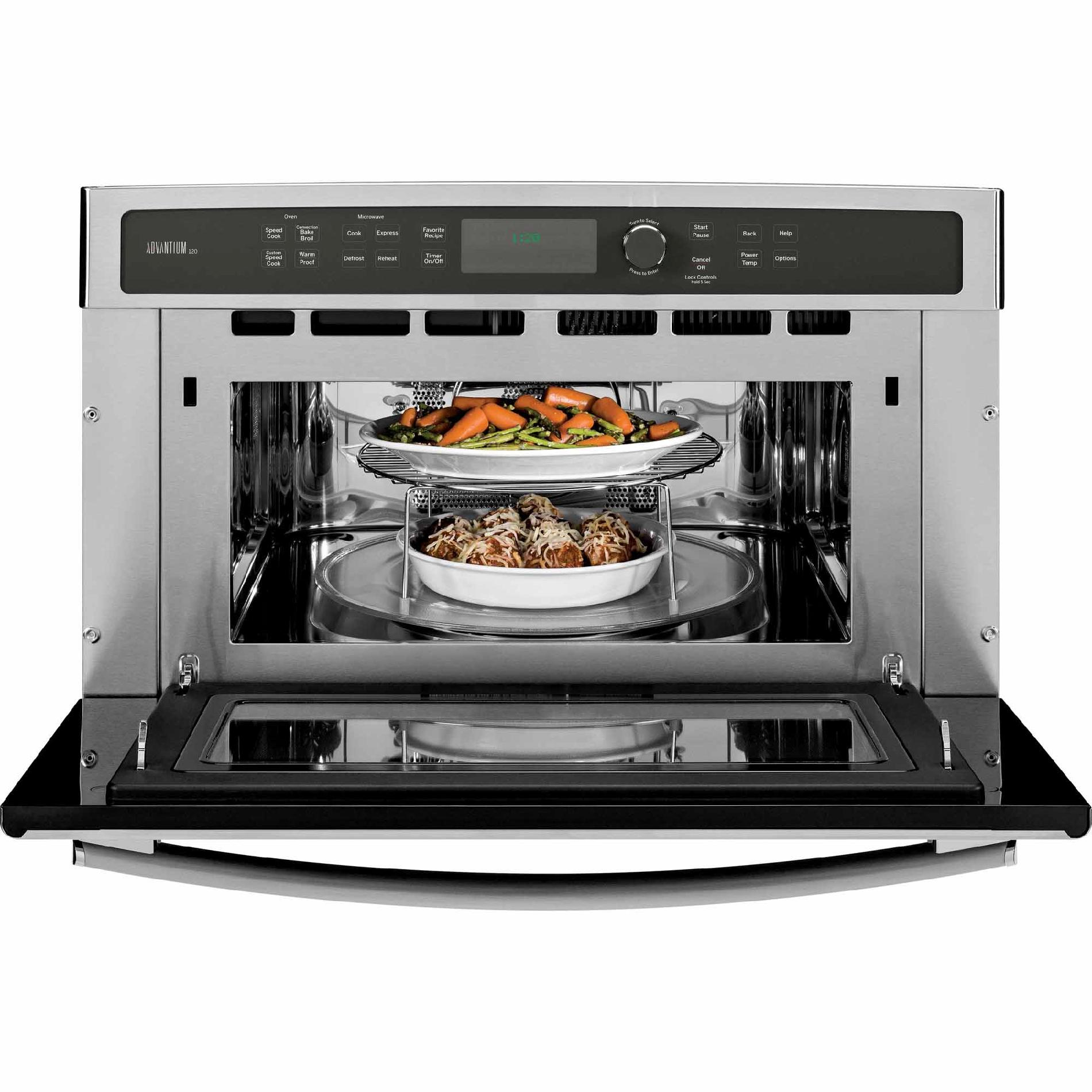 GE Profile PSB9120SFSS 1.7 cu. ft. Advantium® Microwave/Wall Oven - Stainless