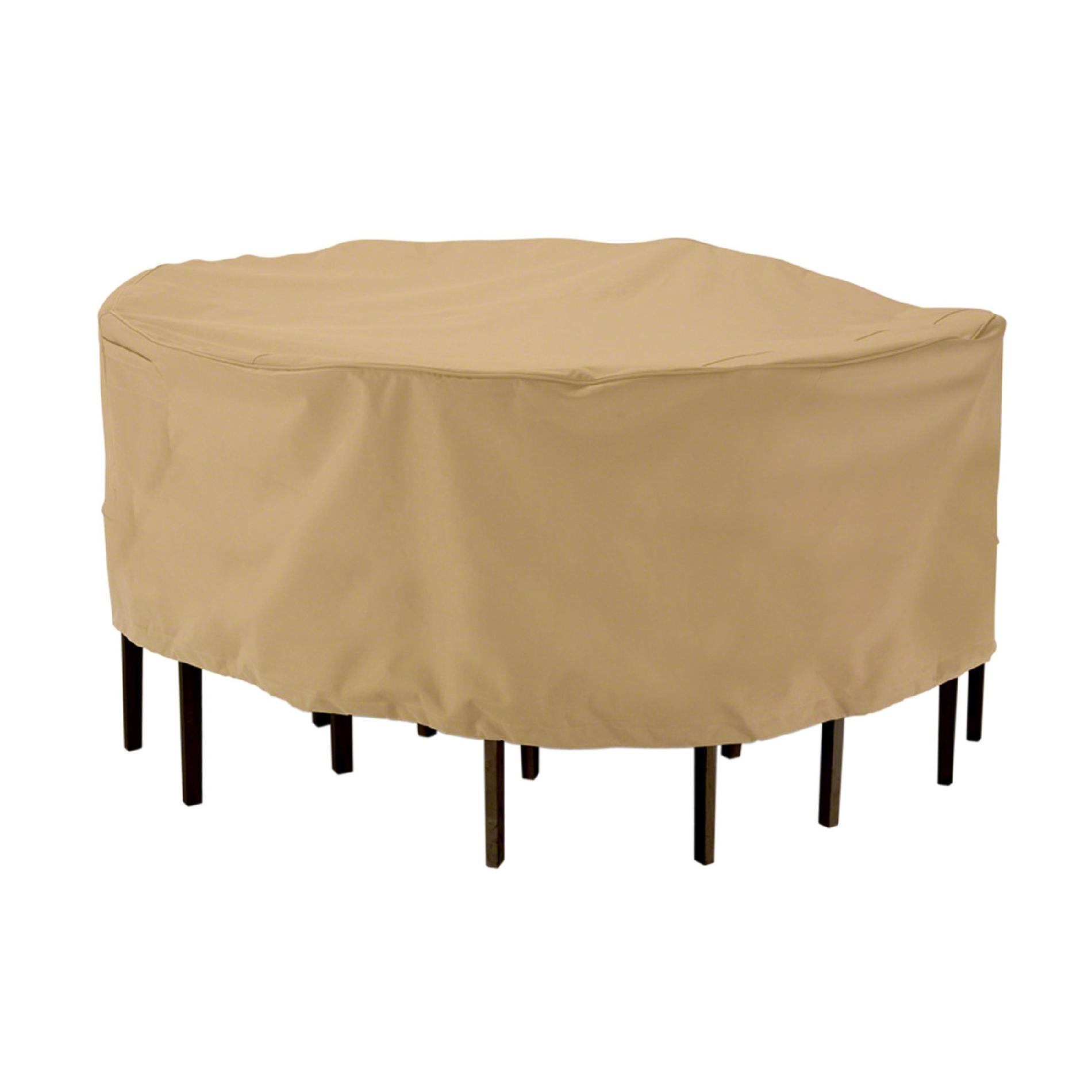 Classic Accessories Tall Table - chair set cover - ROUND