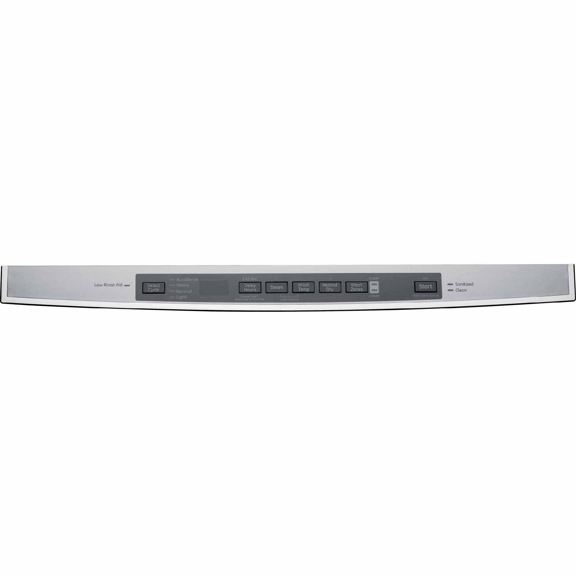 "GE 24"" Built-In Dishwasher w/ Hidden Controls - Stainless Steel"