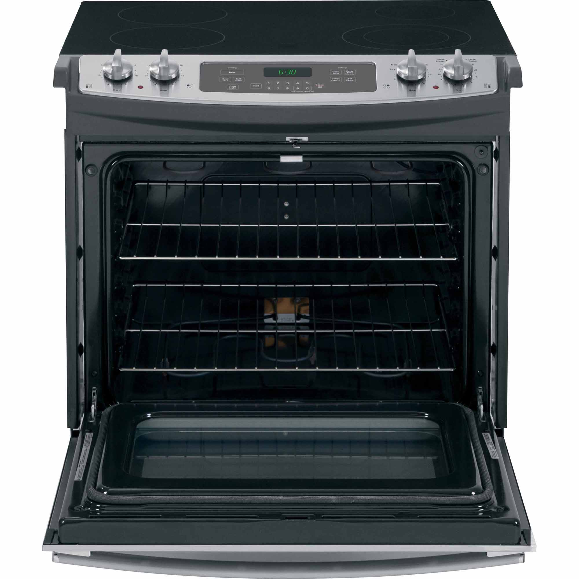 "GE Appliances JD630SFSS 30"" Drop-In Electric Range - Stainless Steel"