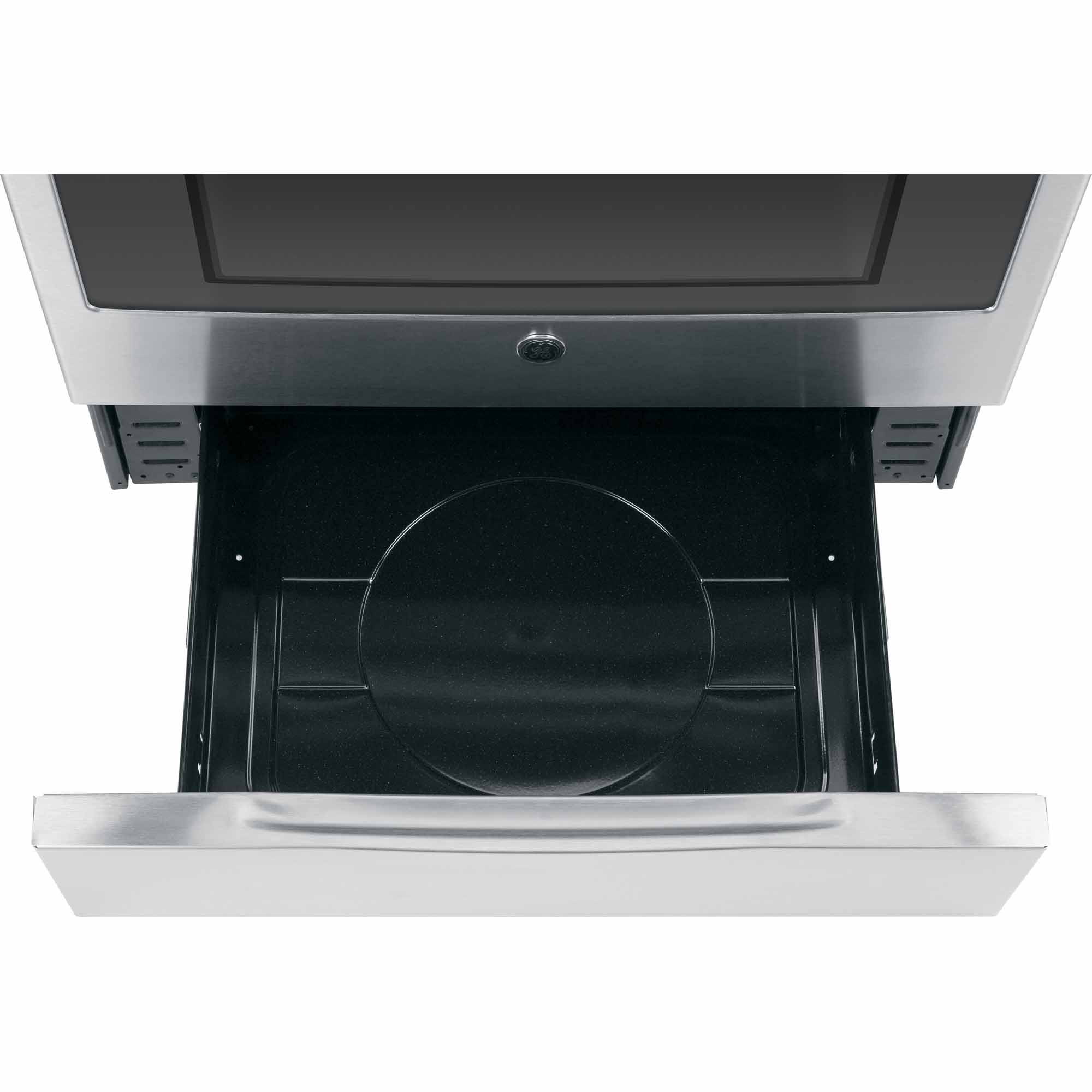 GE Appliances JGS750SEFSS 5.6 cu. ft. Slide-In Gas Range - Stainless Steel