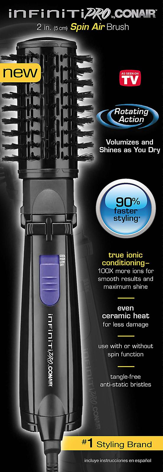 Conair Infiniti Pro Spin Air Rotating Styler
