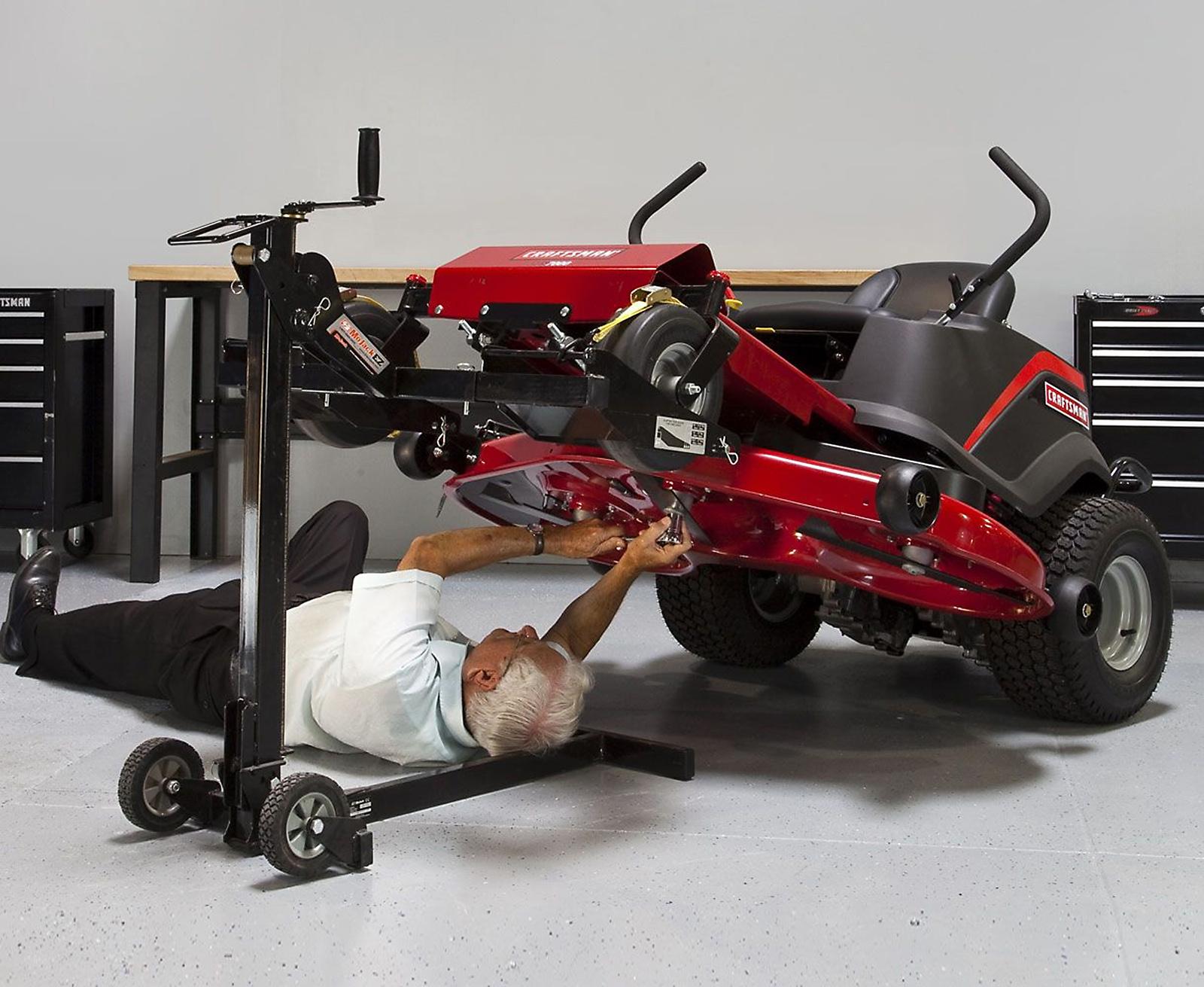 MoJack EZ Tractor Lift