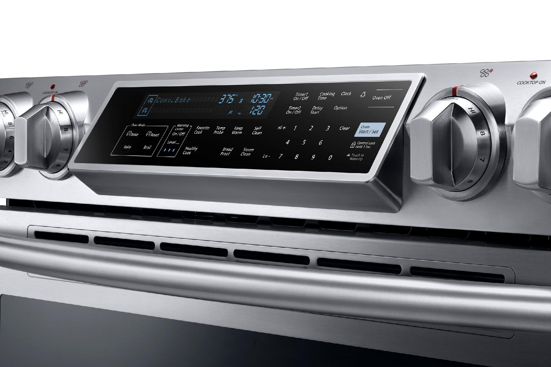 "Samsung 30"" Slide-In Electric Range - Stainless Steel"