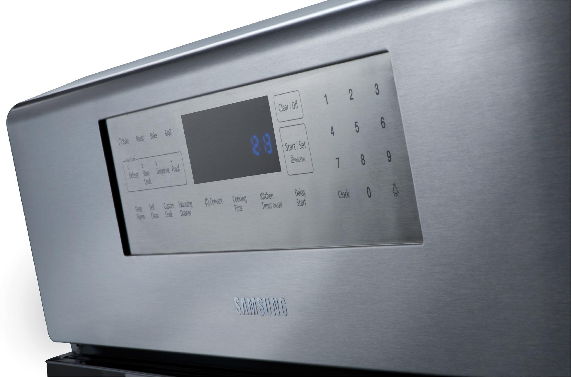 Samsung 5.8 cu. ft. Gas Range w/ True Convection - Stainless Steel