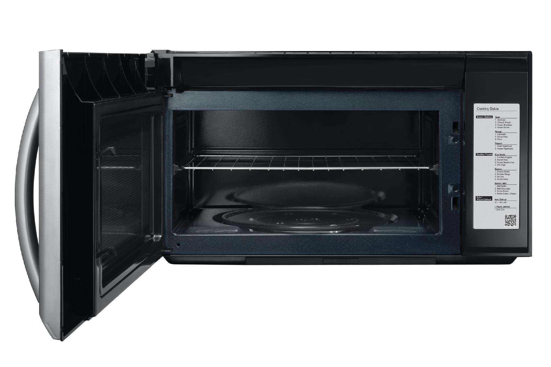 Samsung 2.1 cu. ft. Over-the-Range Microwave Oven - Stainless Steel