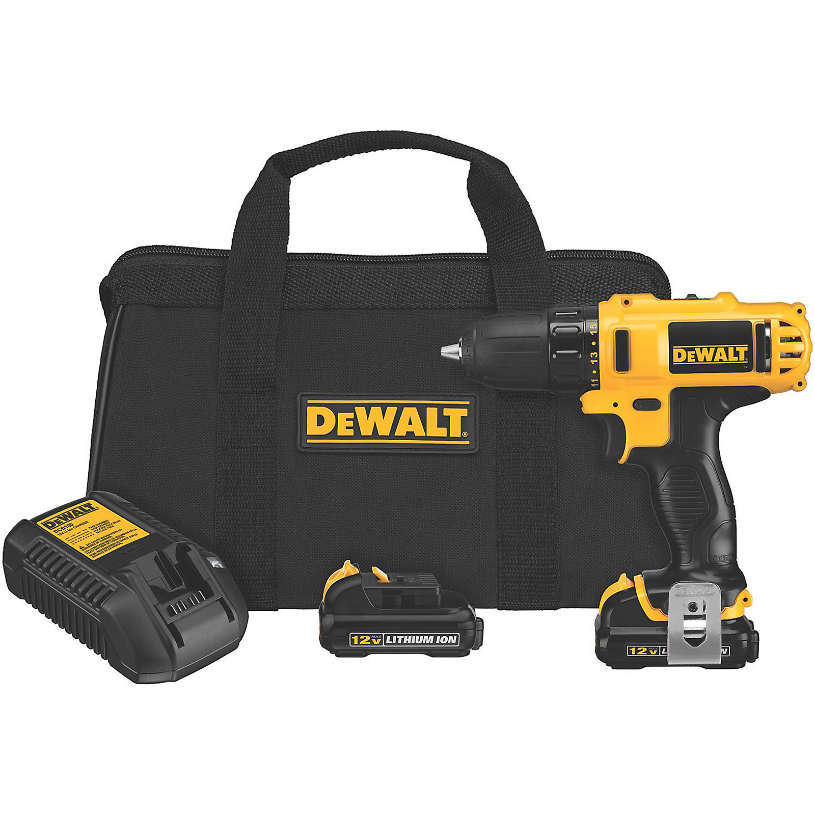 DeWalt 12V MAX* 3/8 in. Drill Driver Kit