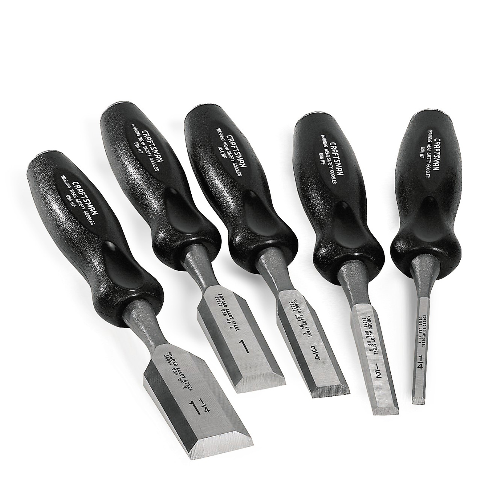 Craftsman 5 pc. Wood Chisel Set
