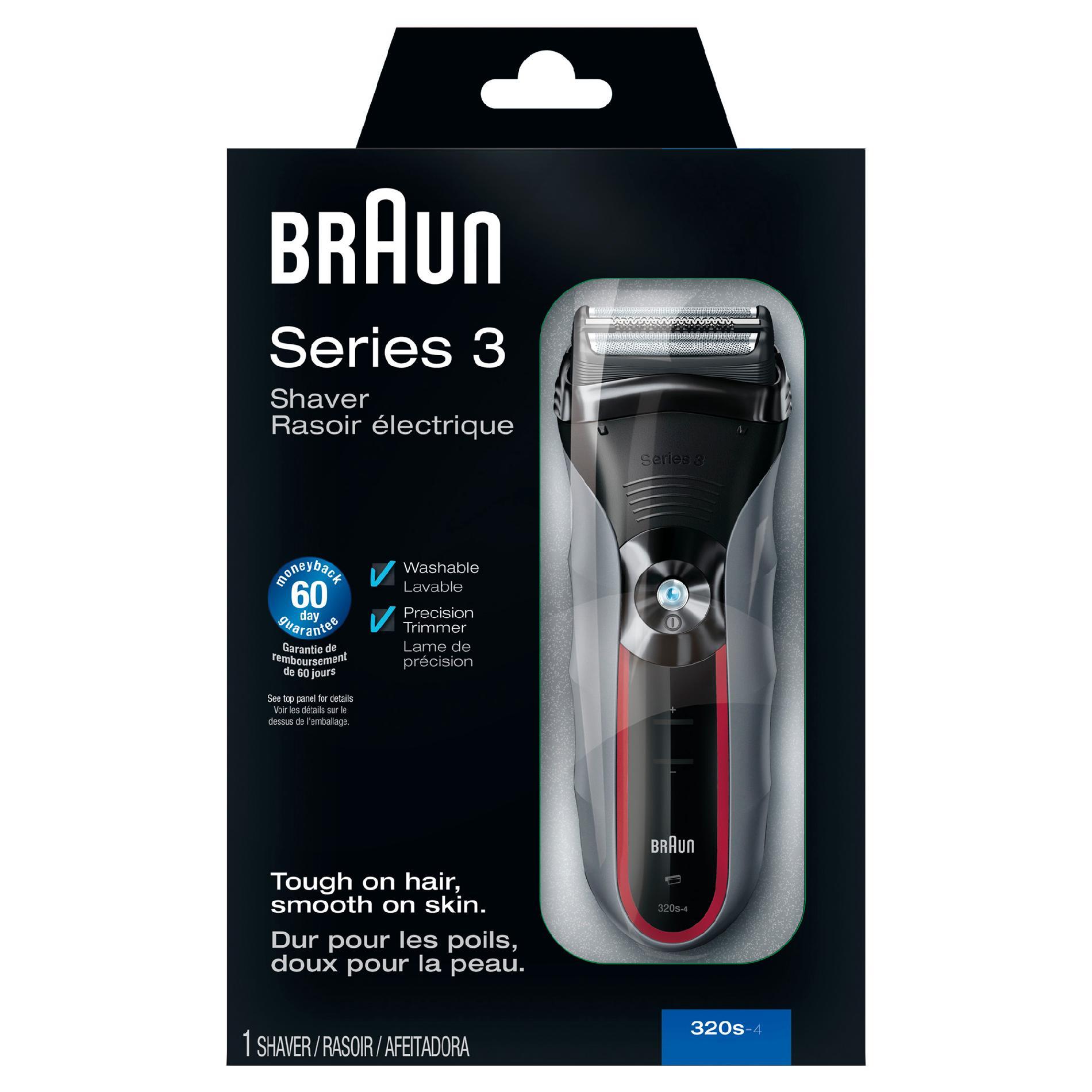 Braun 3 Series 320 S-4 Shaver