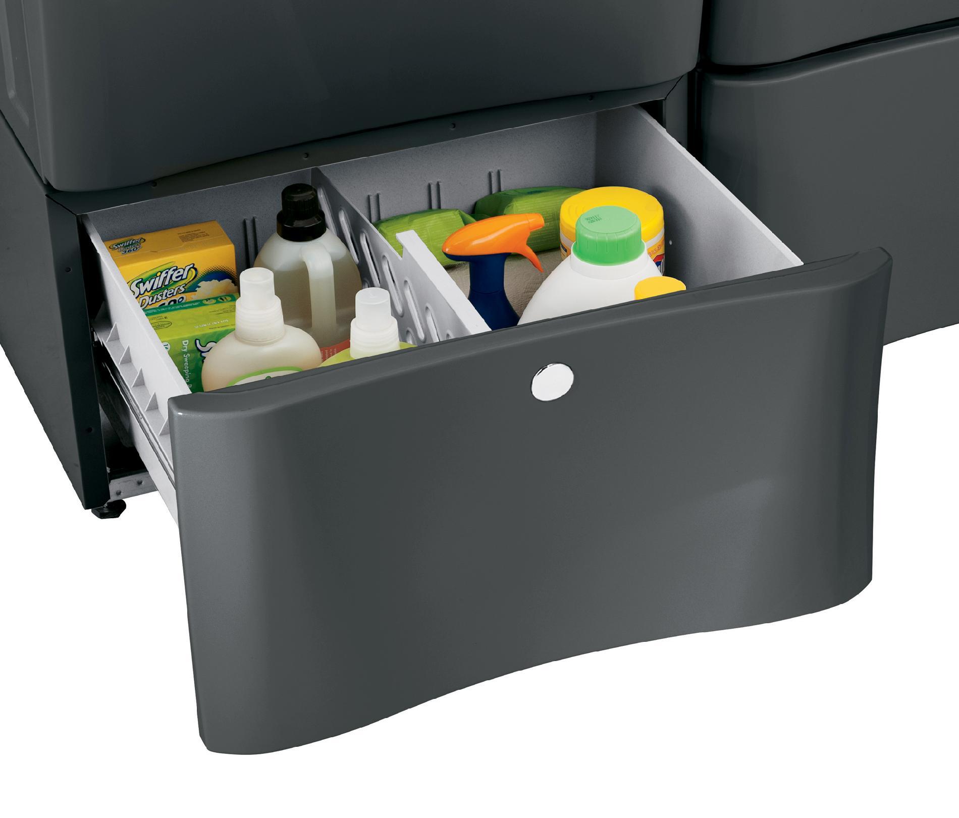"Electrolux EPWD15T 15"" Laundry Pedestal w/ Drawer - Titanium"