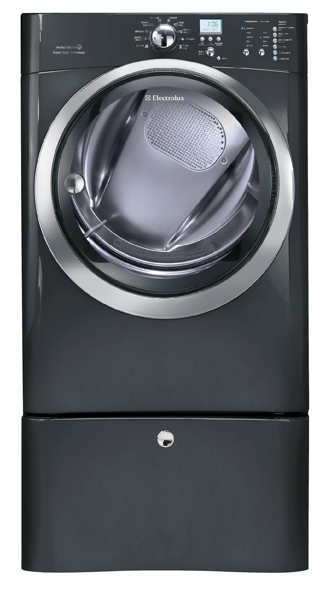 Electrolux IQ-Touch™ 8.0 cu. ft. Large-Capacity Electric Dryer - Titanium