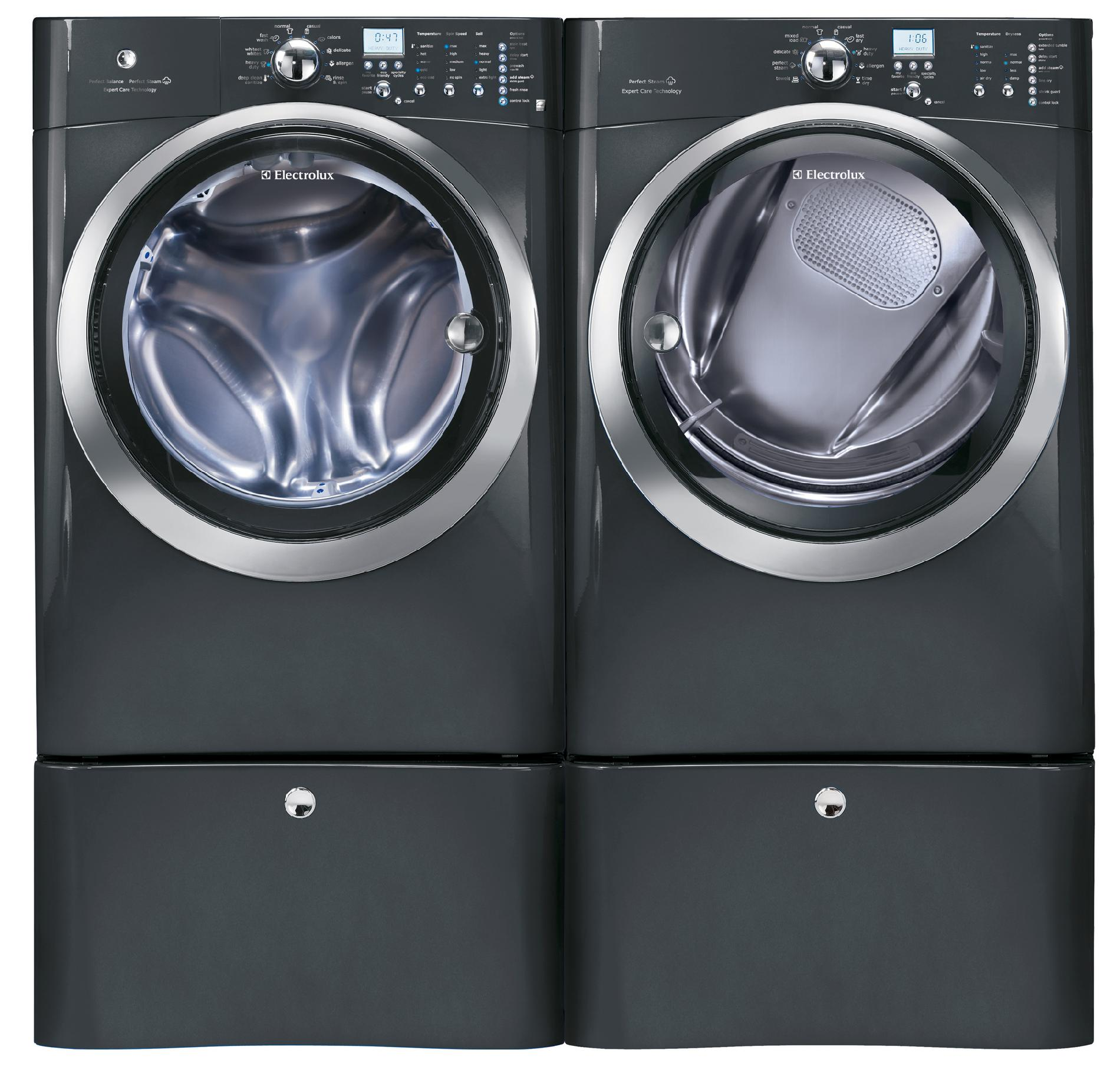 Electrolux EIFLS60LT 4.3 cu. ft. Front-Load Washer w/ Perfect Steam™ - Titanium