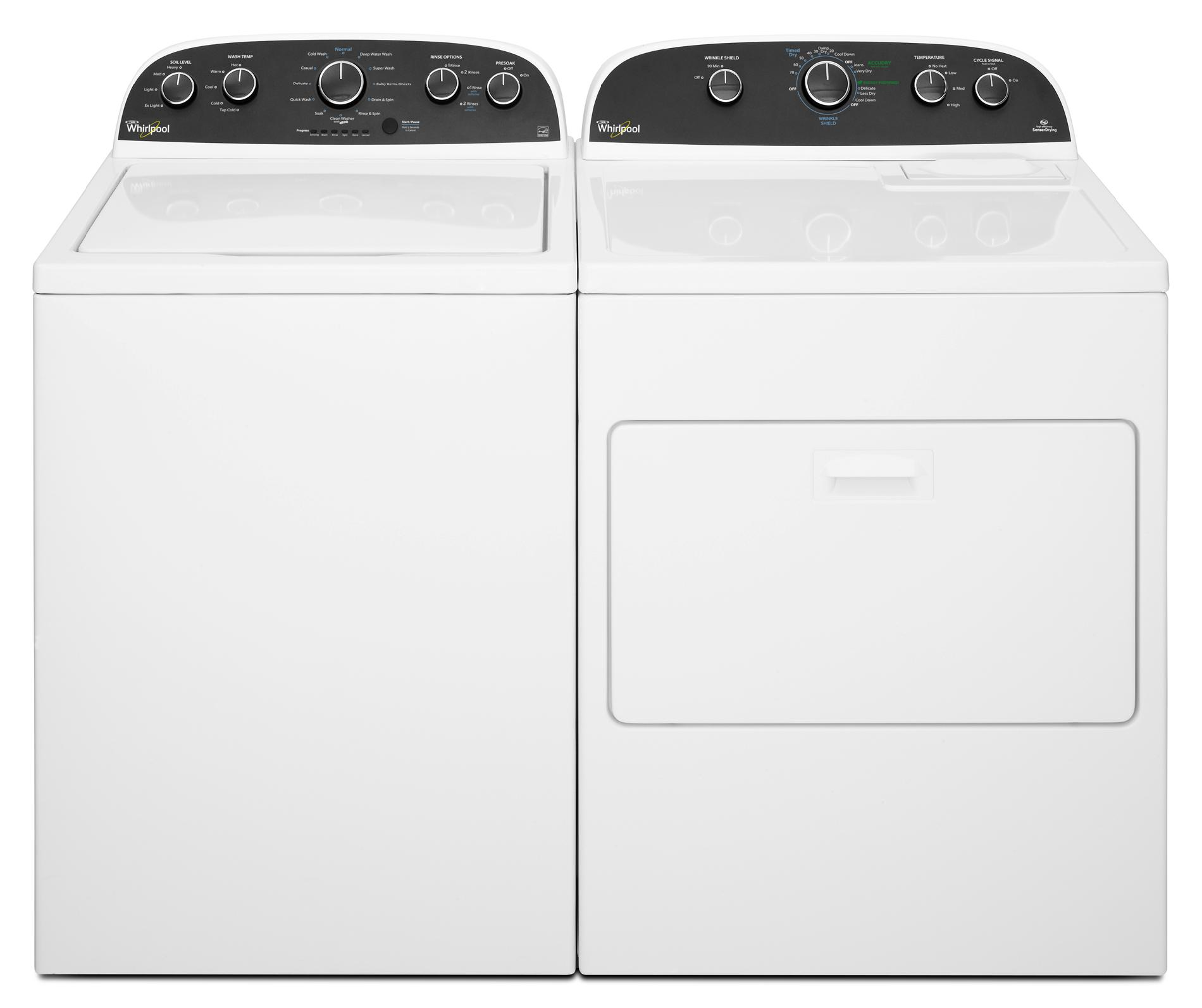 Whirlpool 3.6 cu. ft. Top-Load Washer - White