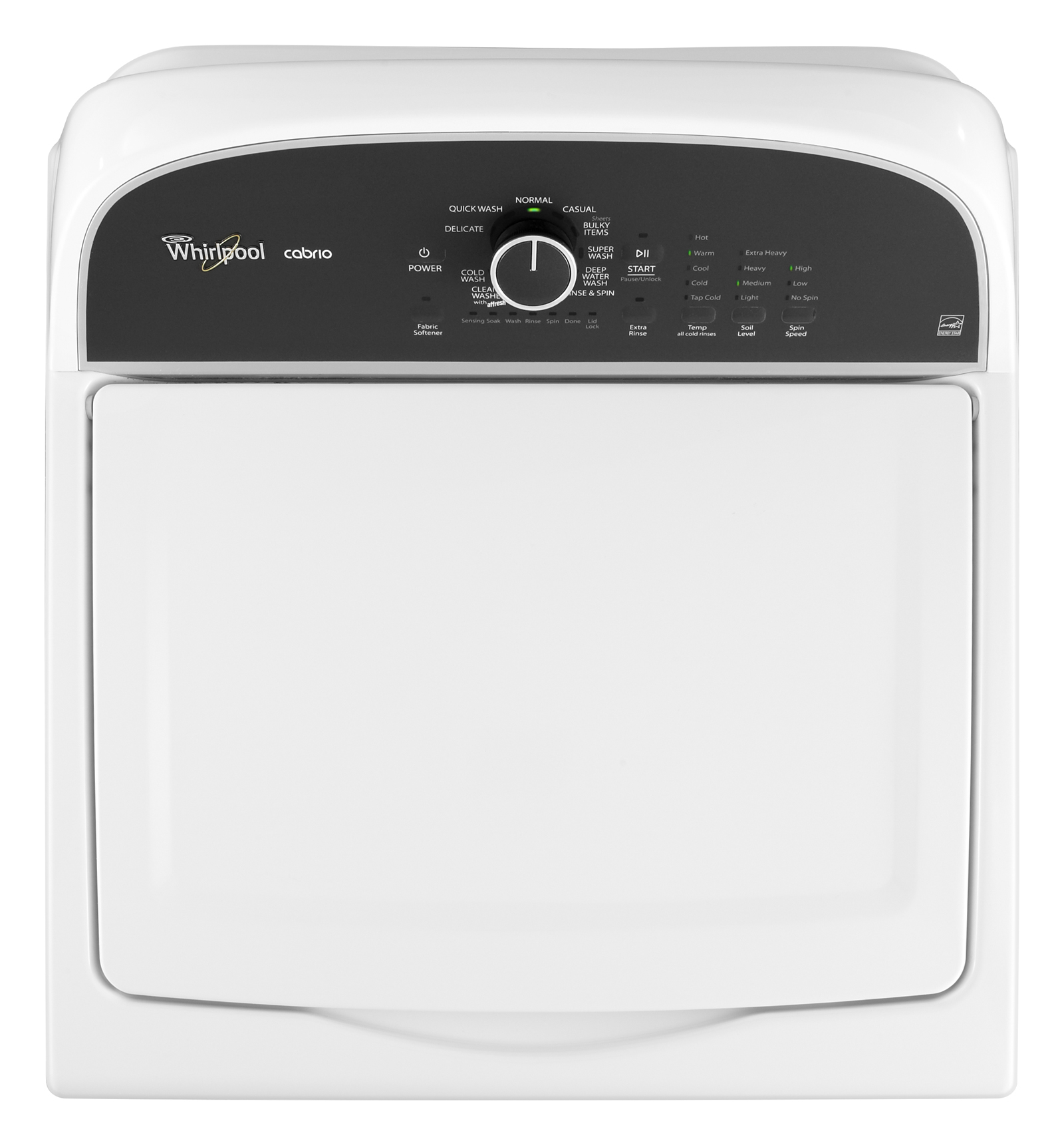 Whirlpool 3.8 cu. ft. HE Top-Load Washer w/ Precision Dispense - White