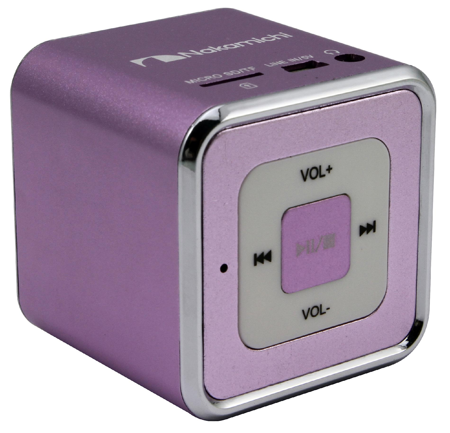 Nakamichi Mini Speaker - Purple