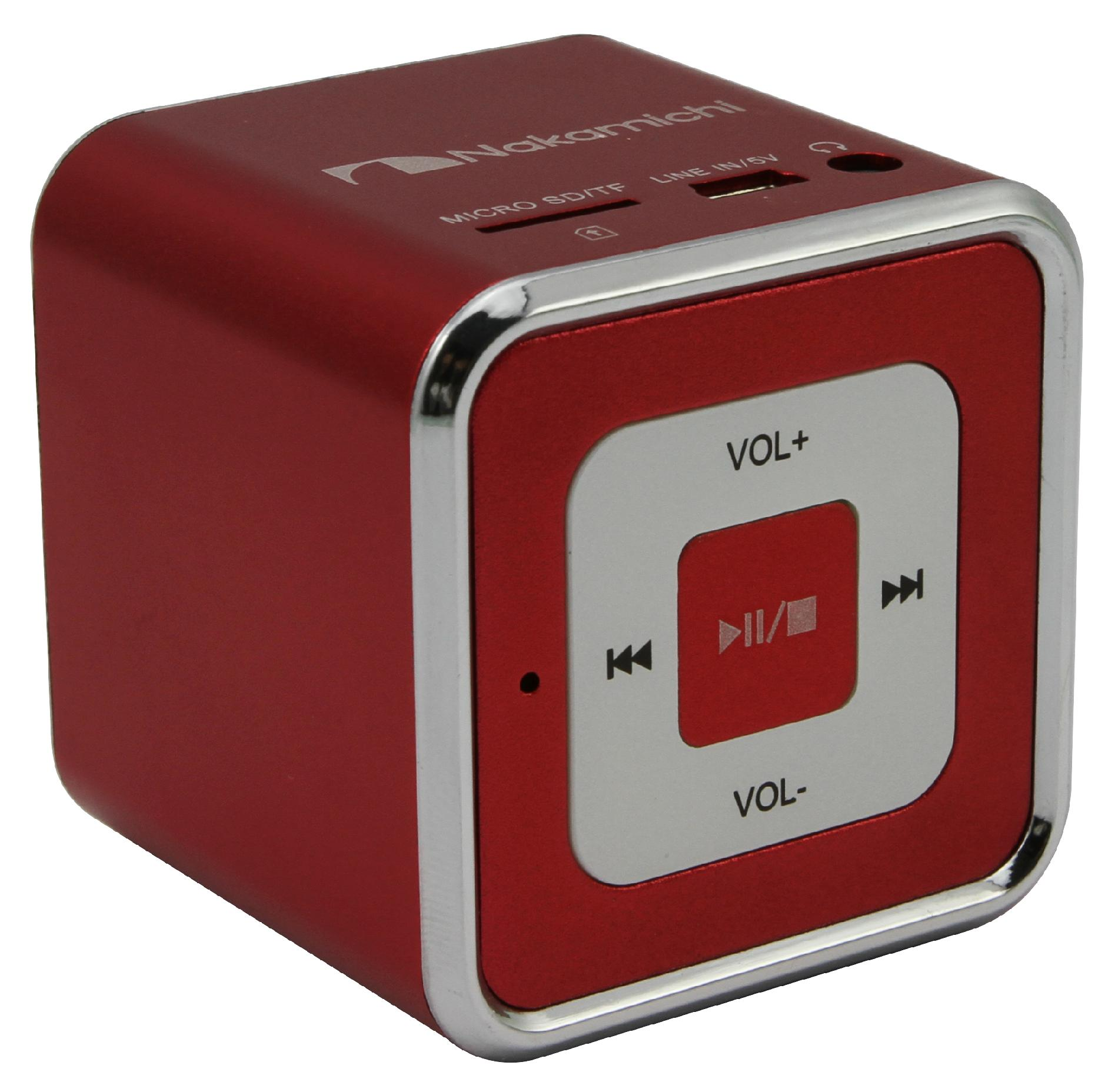Nakamichi Mini Speaker - Red