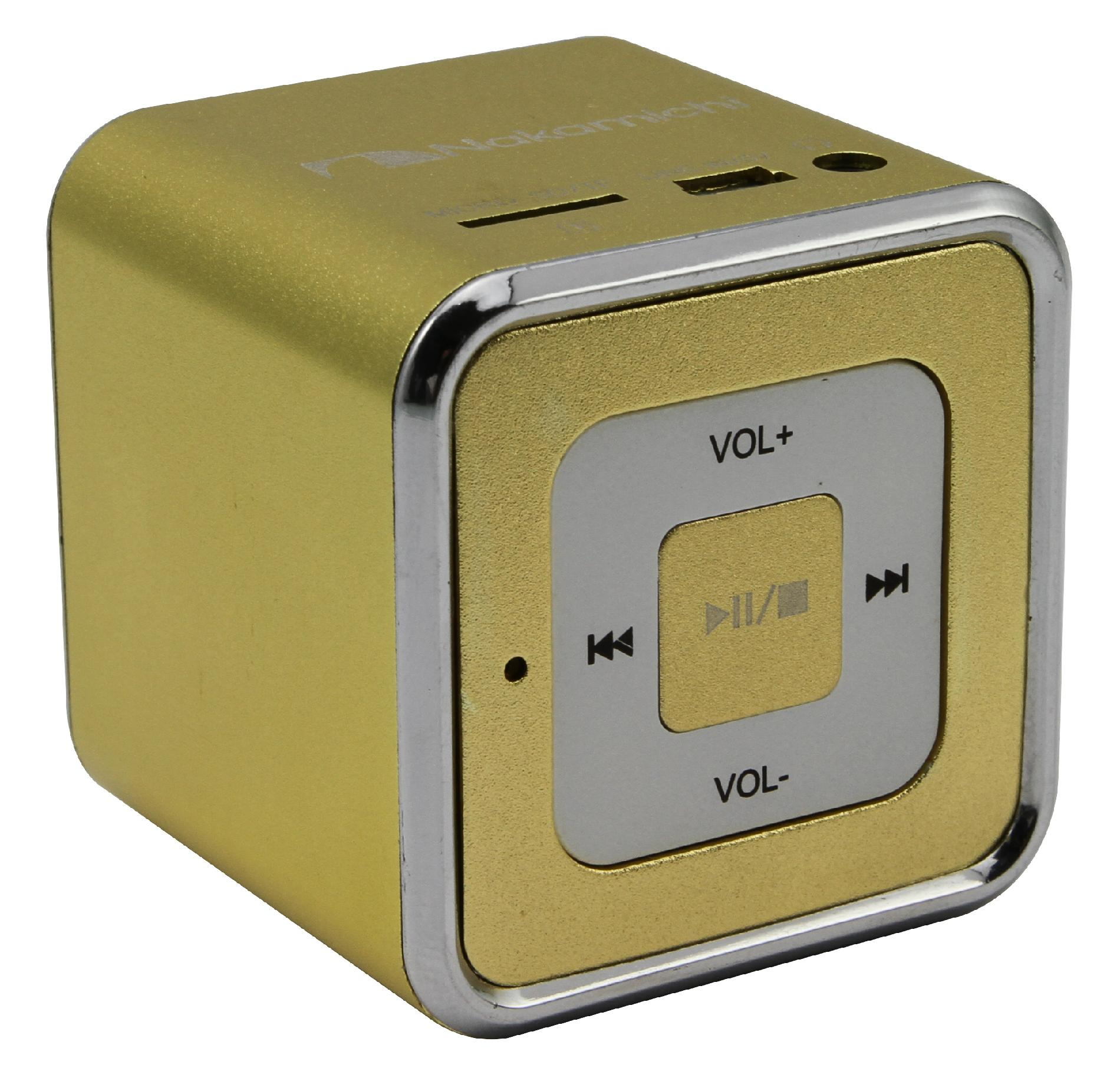 Nakamichi Mini Speaker - Yellow