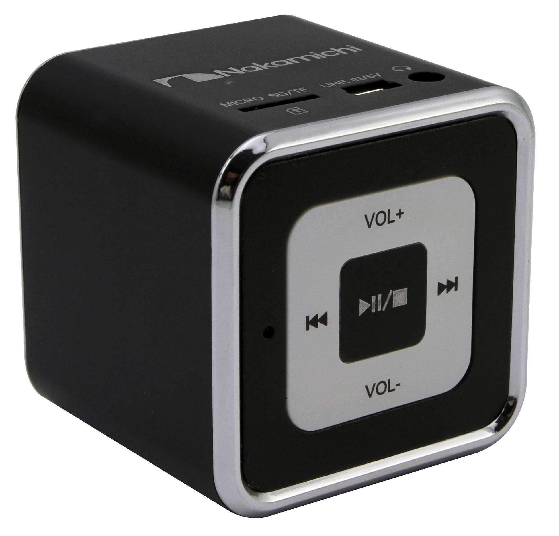 Nakamichi Mini Speaker - Black