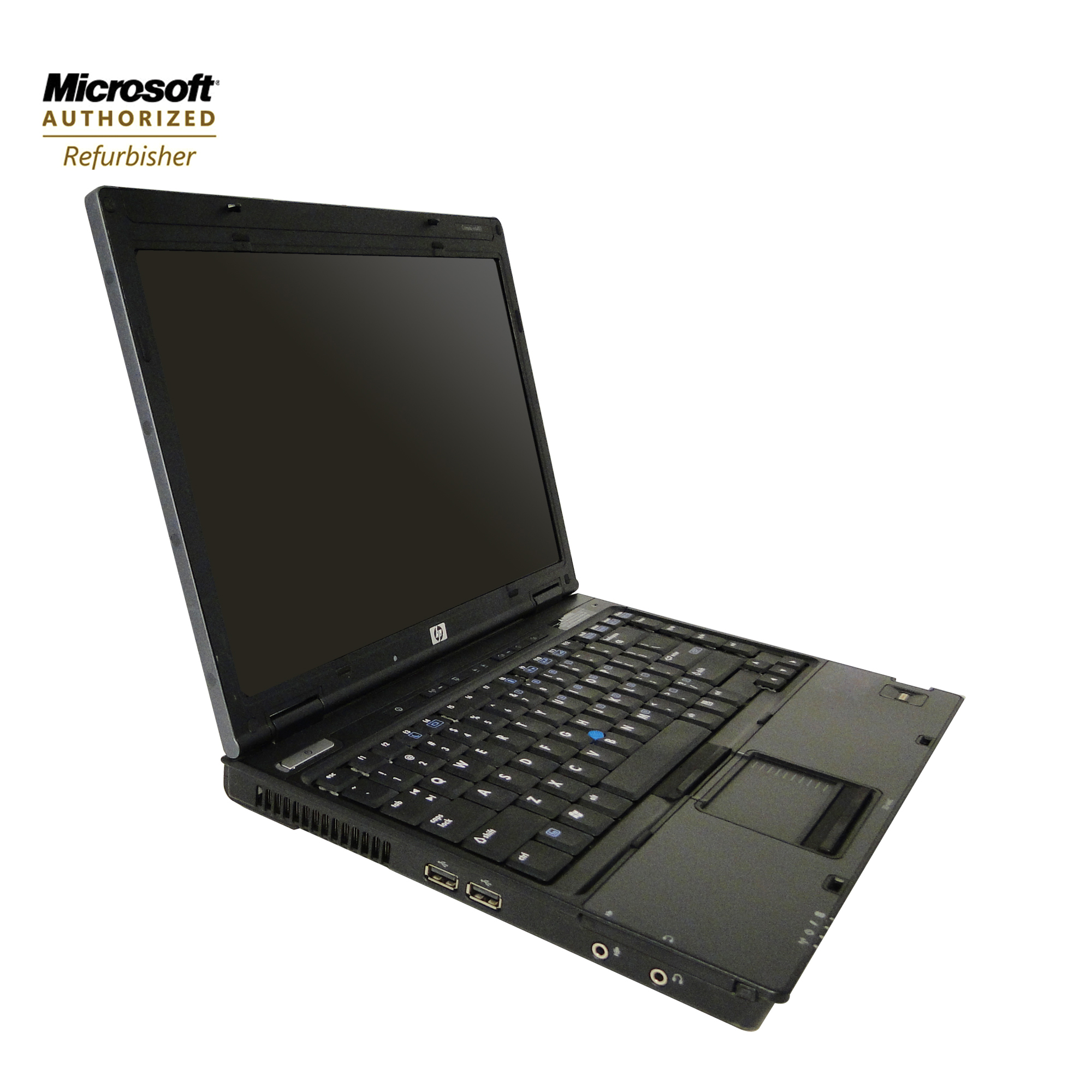 HP NC6400 Refurbished 14.1 Laptop, Intel CoreDuo 1.8GHz, 2GB, 80GB, CDRW/DVD, Windows7 Home Premium