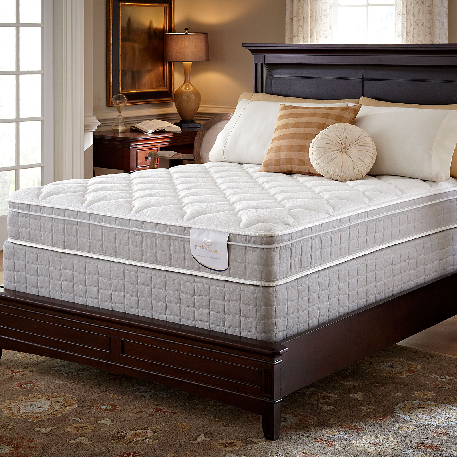 Serta Careybrook II Eurotop California King Mattress