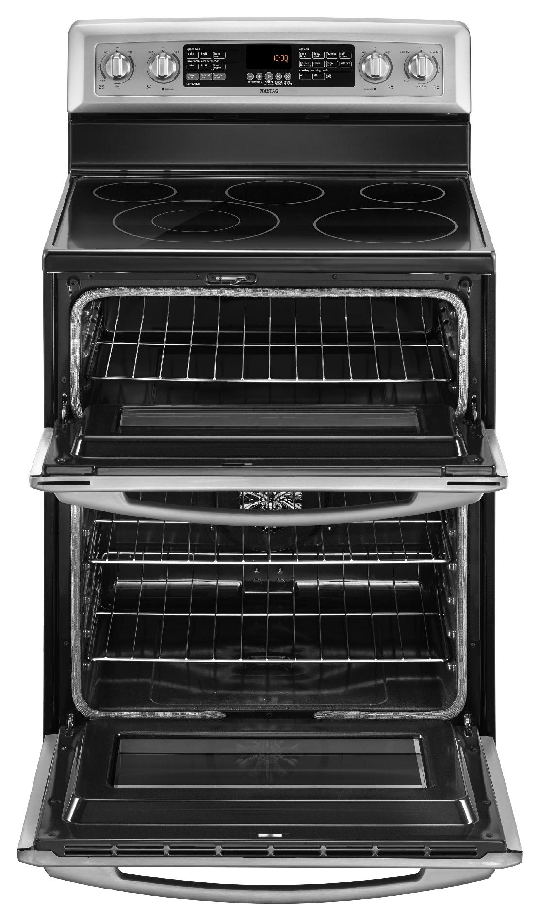 Maytag 6.7 cu. ft. Electric Range w/ Even-Air™ Convection - Stainless Steel