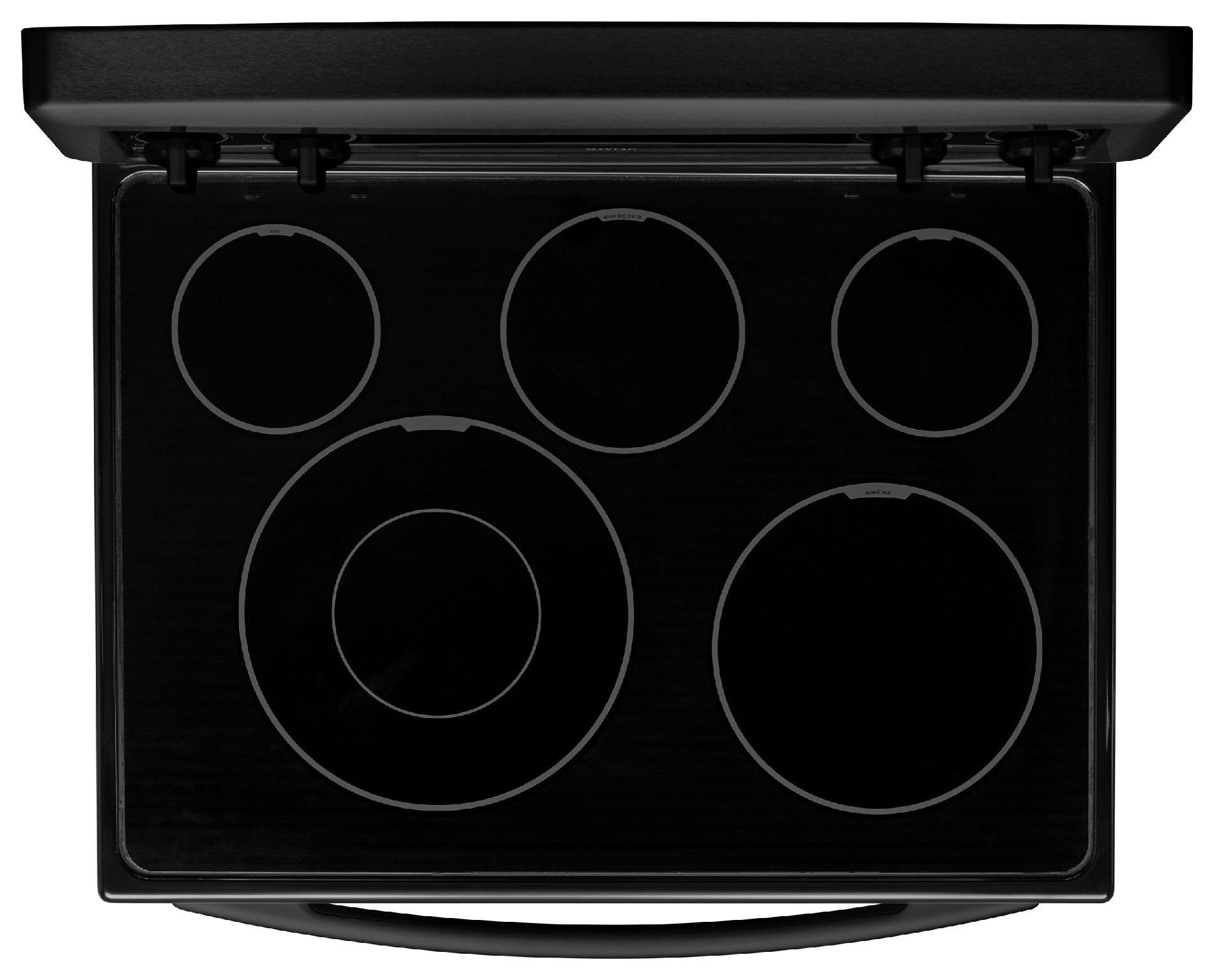 "Maytag 30"" Electric Range w/ Even-Air™ Convection - Black"