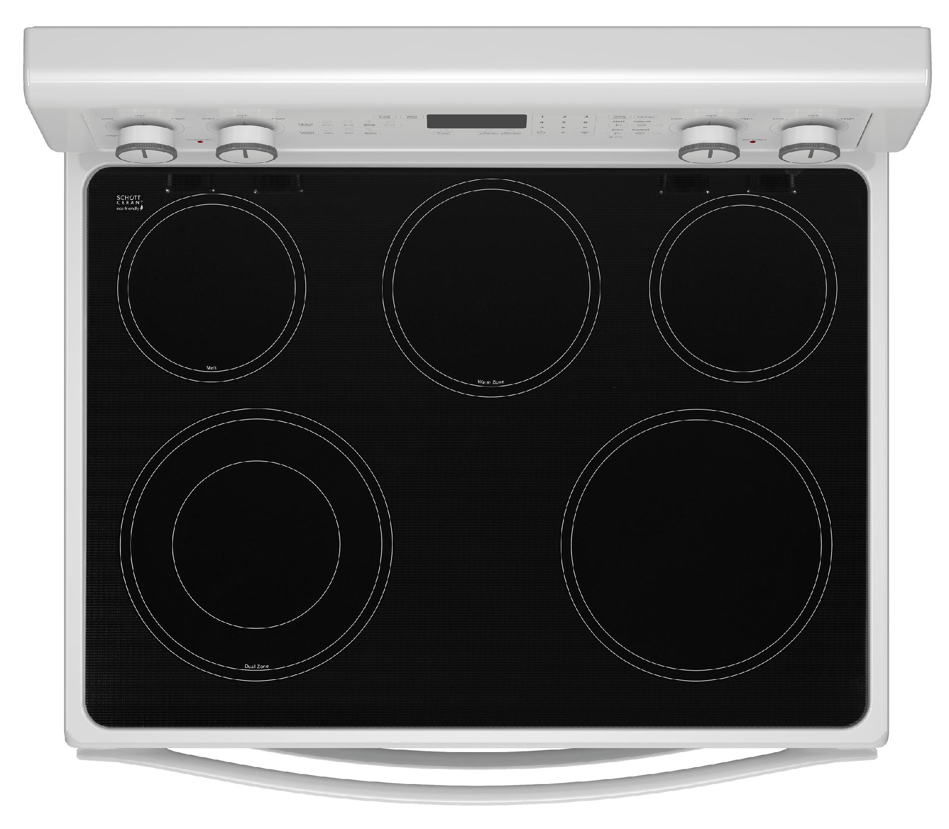 """Whirlpool 30"""" Electric Range w/ AccuBake® System - White"""