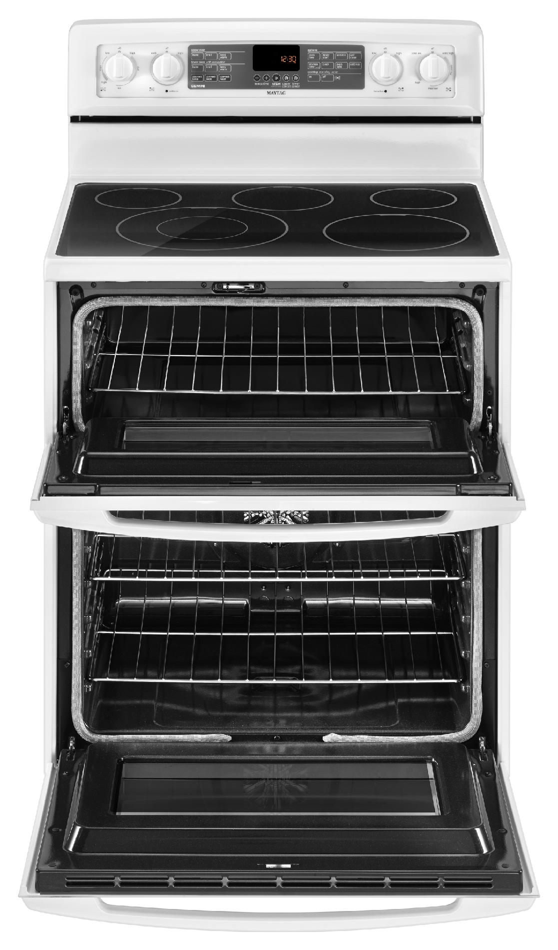 "Maytag 30"" Electric Range w/ Even-Air™ Convection - White"