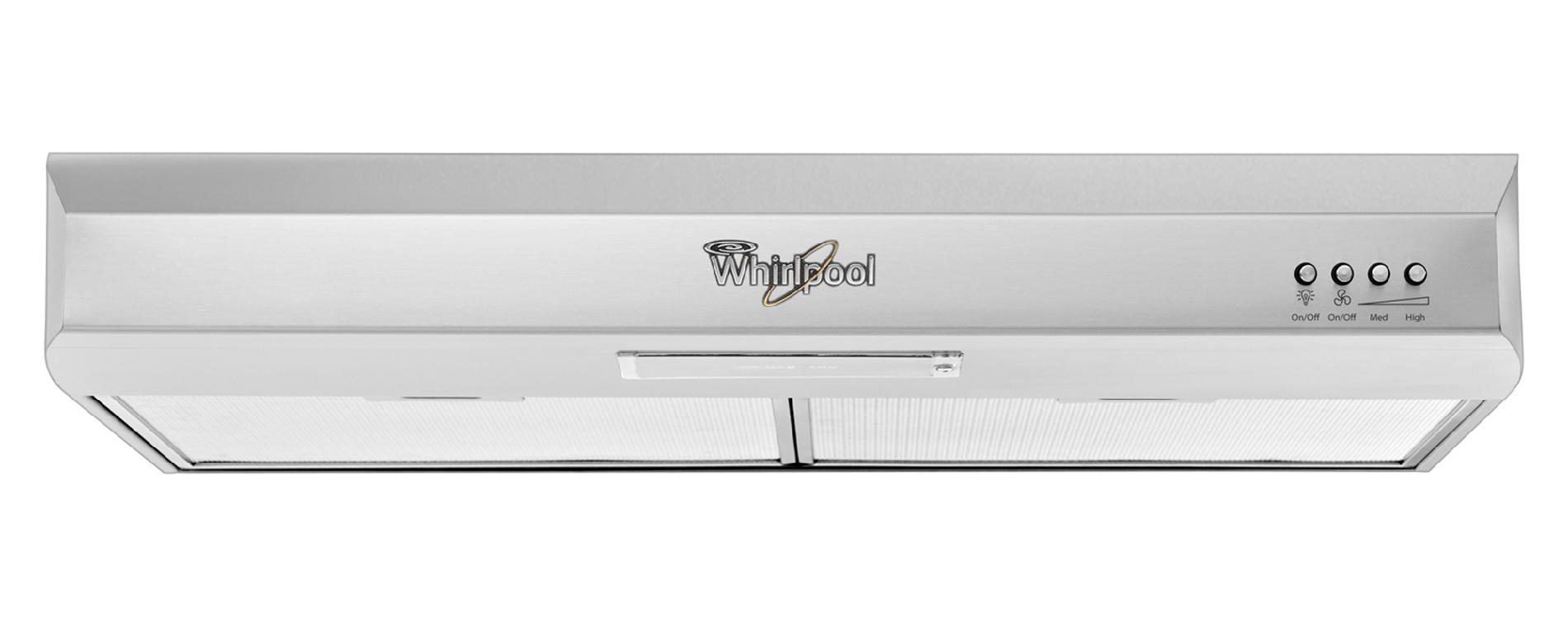 "Whirlpool Gold® 30"" Vented Under-Cabinet Range Hood - Stainless Steel"