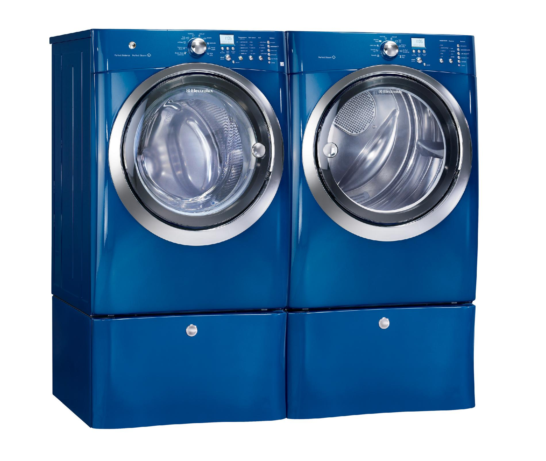 Electrolux 4.1 cu. ft. Front-load Washer w/ Steam - Mediterranean Blue
