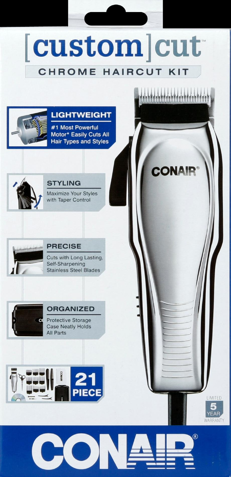Conair Custom Kit Haircut Kit, Chrome 1 haircut kit