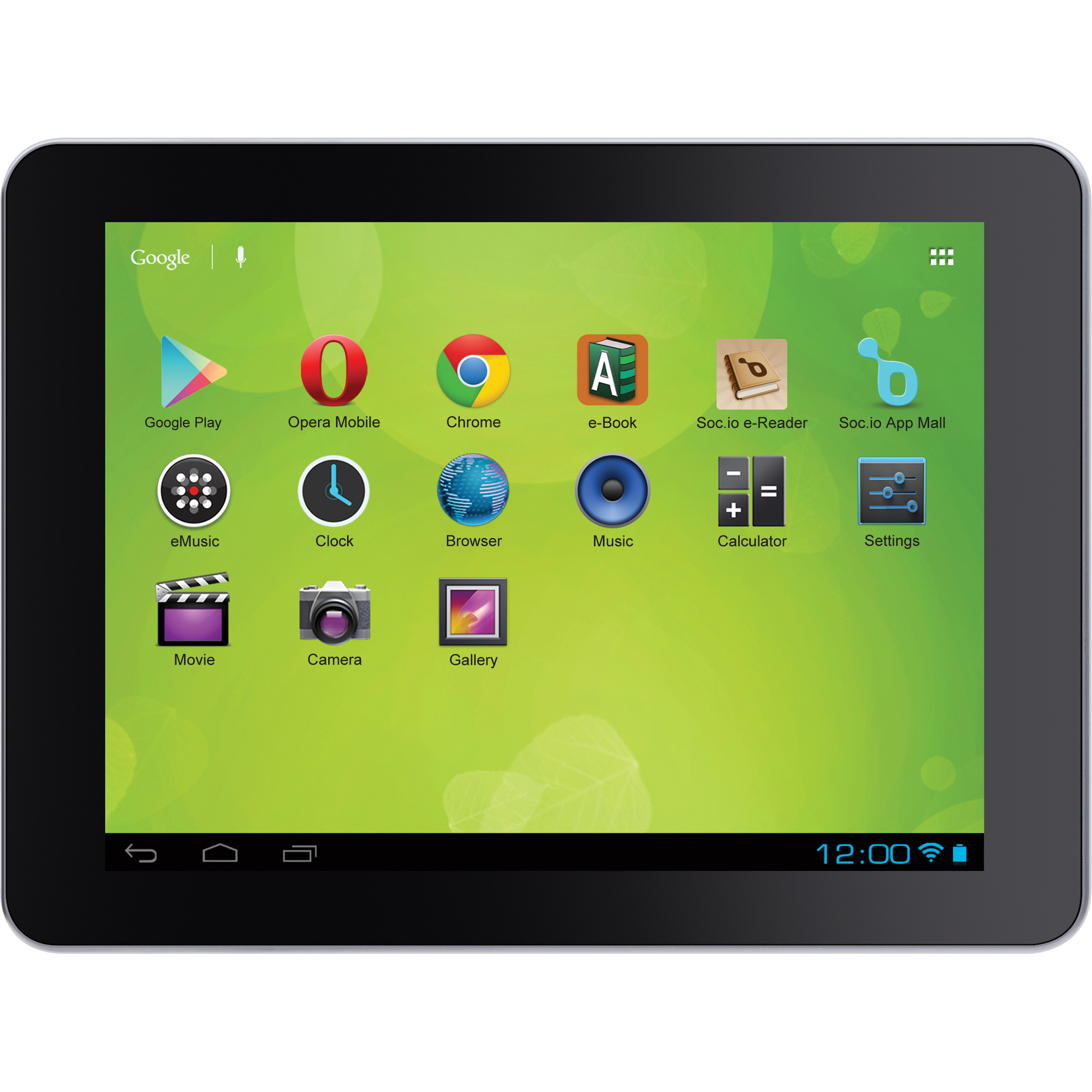 "Zeki 8"" Tablet w/ Jelly Bean Android OS TBDG874B"