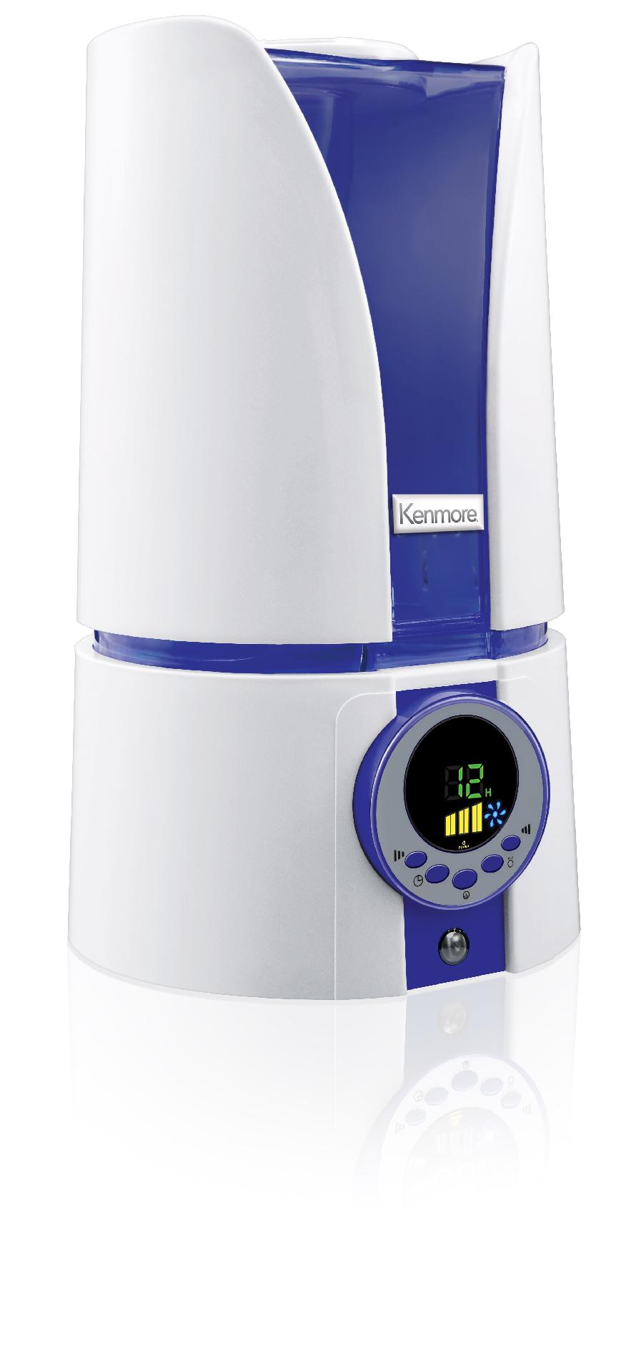 Kenmore Cool Mist Ultrasonic Humidifier 1.1 Gal.