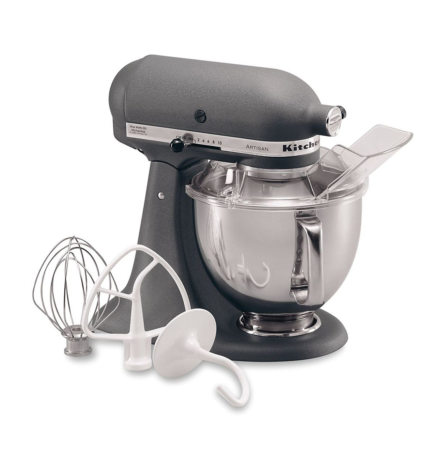 KitchenAid KSM150PSGR Artisan® Series Imperial Gray 5 Quart. Stand Mixer
