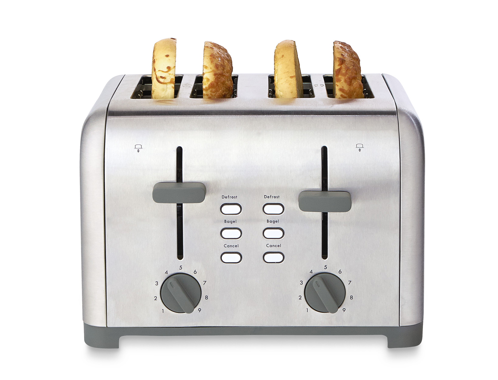 Kenmore 4 Slice Toaster Stainless Steel