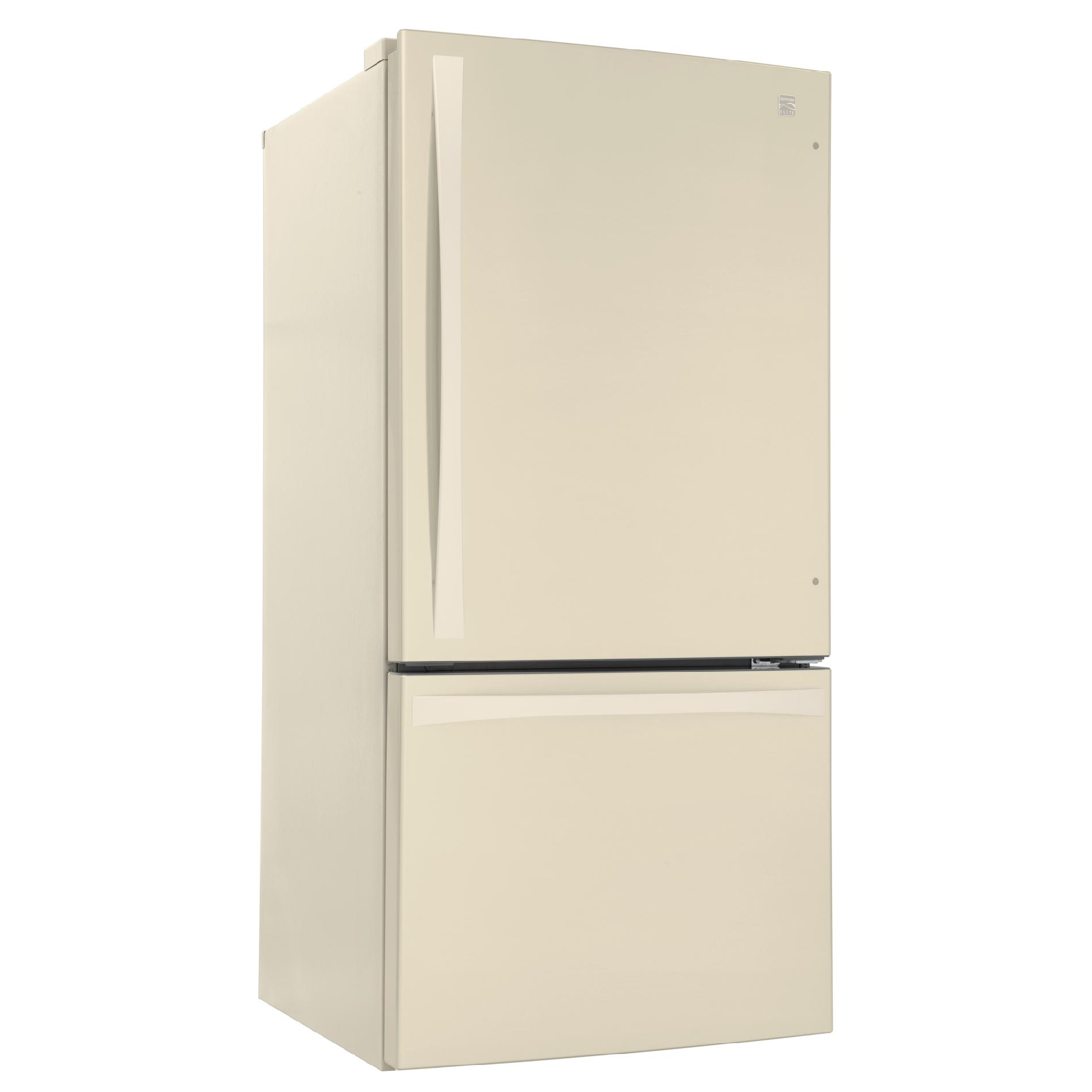 Kenmore Elite 24 cu. ft. Bottom-Freezer Refrigerator – Bisque