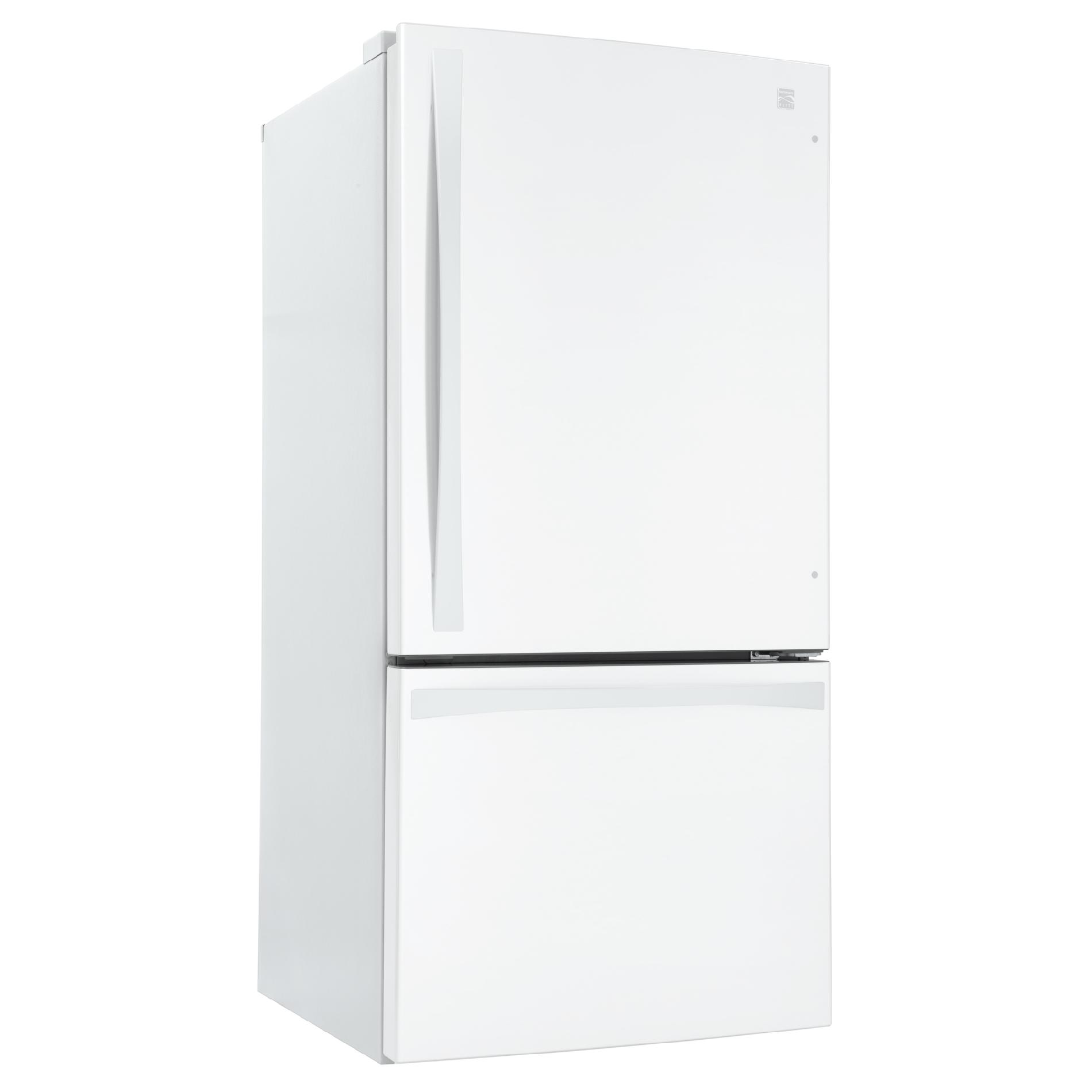 Kenmore Elite 79042 24.1 cu. ft. Bottom-Freezer Refrigerator – White