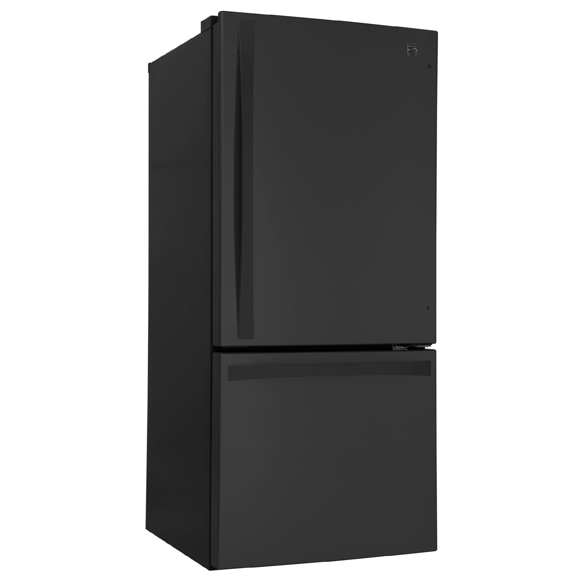 Kenmore Elite 79029 22.1 cu. ft. Bottom-Freezer Refrigerator – Black