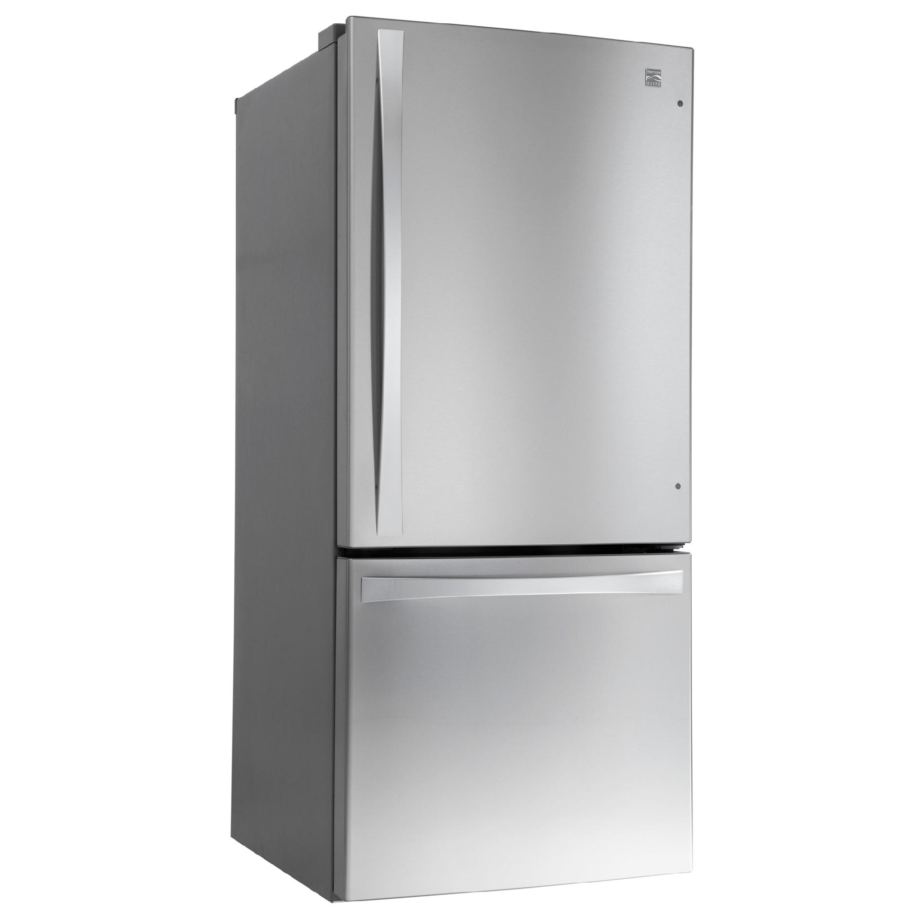 Kenmore Elite 79023 22.1 cu. ft. Bottom-Freezer Refrigerator - Stainless Steel
