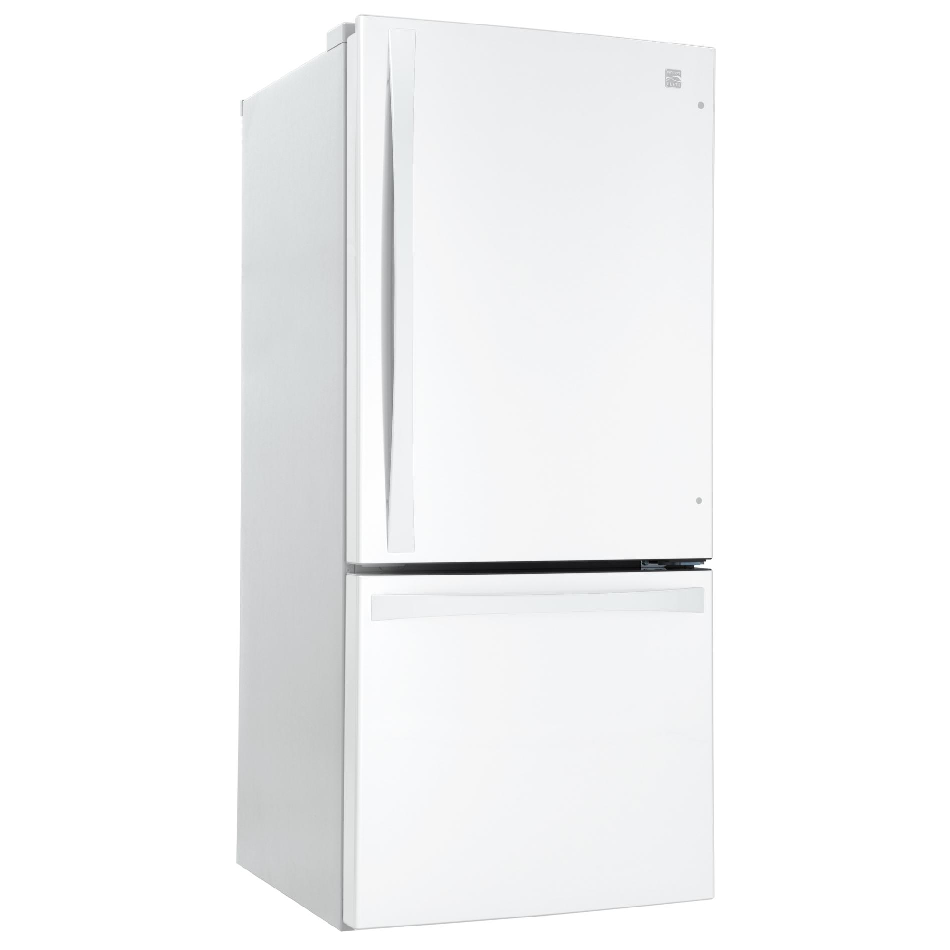 Kenmore Elite 22 cu. ft. Bottom-Freezer Refrigerator – White