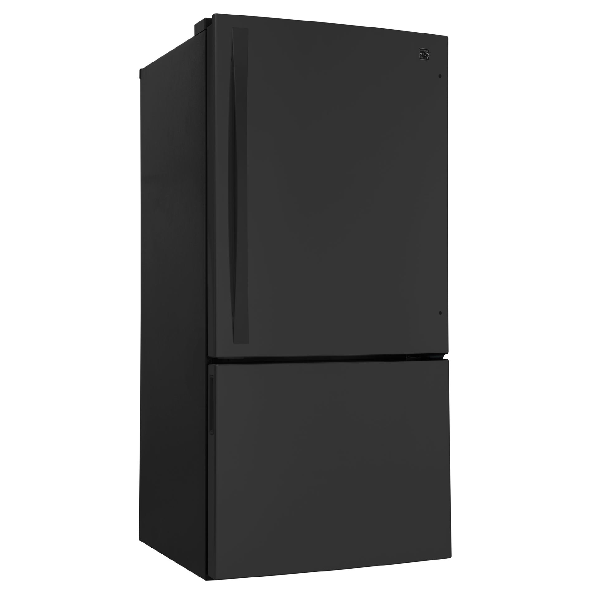Kenmore Elite 24.1 cu. ft. Bottom-Freezer Refrigerator - Black