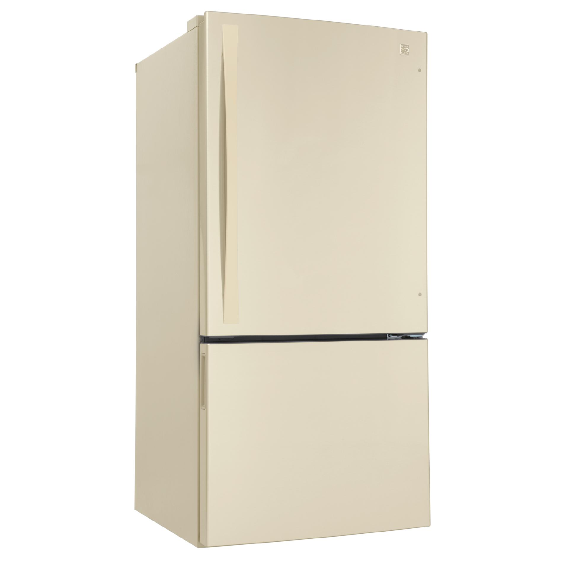 Kenmore Elite 24.1 cu. ft. Bottom-Freezer Refrigerator - Bisque